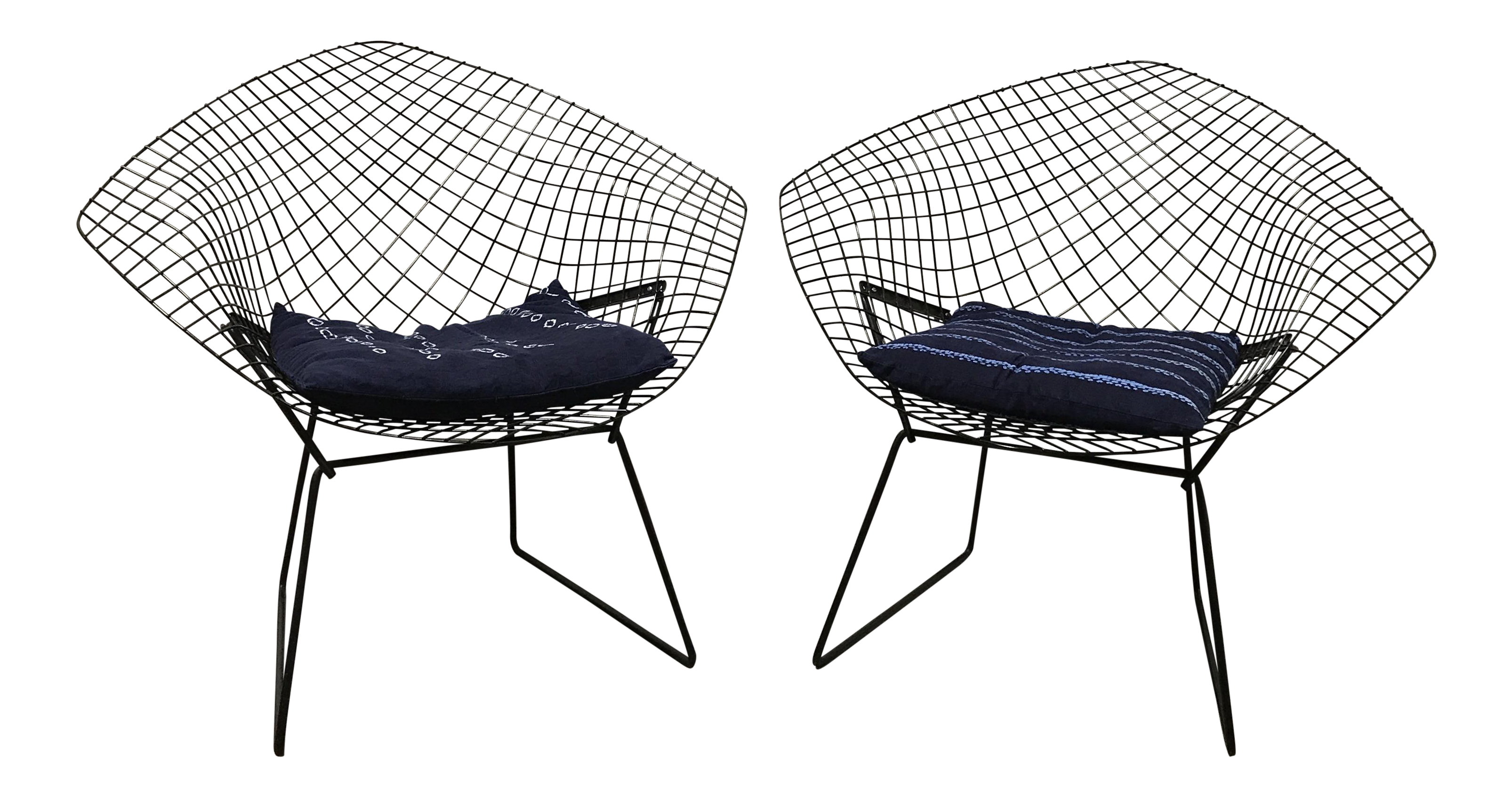Harry Bertoia For Knoll Diamond Chairs A Pair Chairish