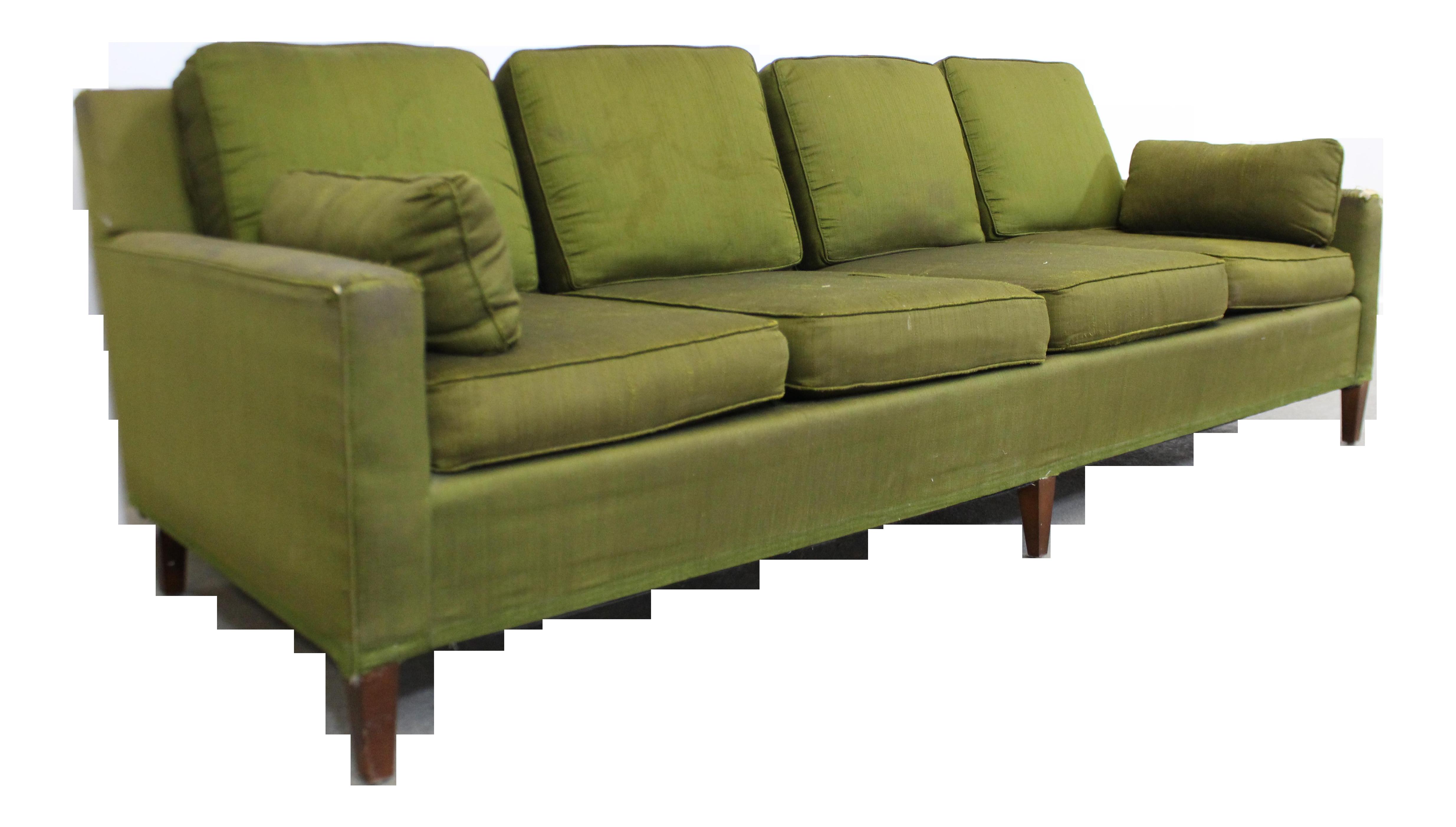 Mid-Century Modern Dunbar Style Sofa | Chairish