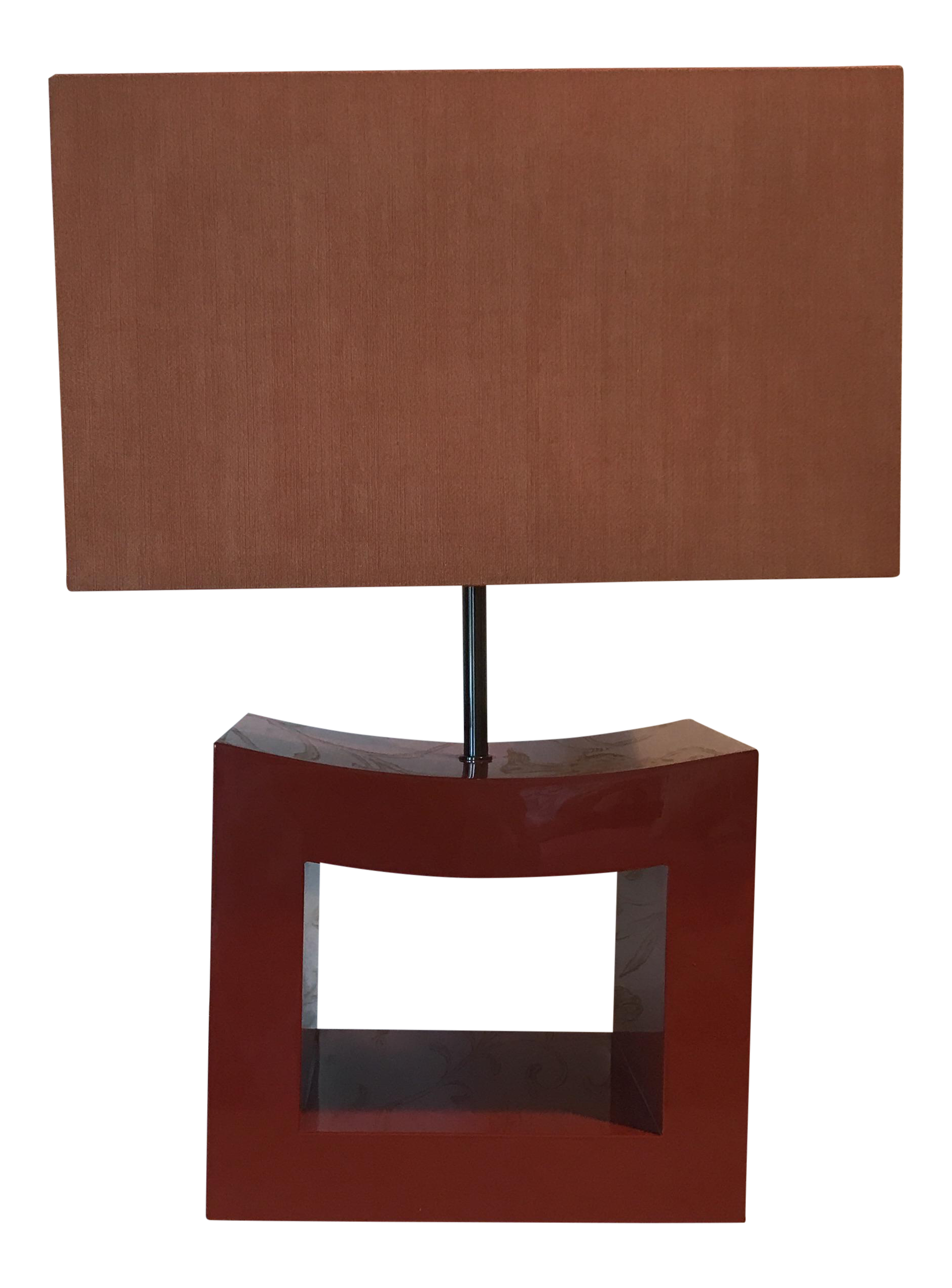 Vintage used new york table lamps chairish lighting table lamps armani casa orange lacquer lamp mozeypictures Choice Image