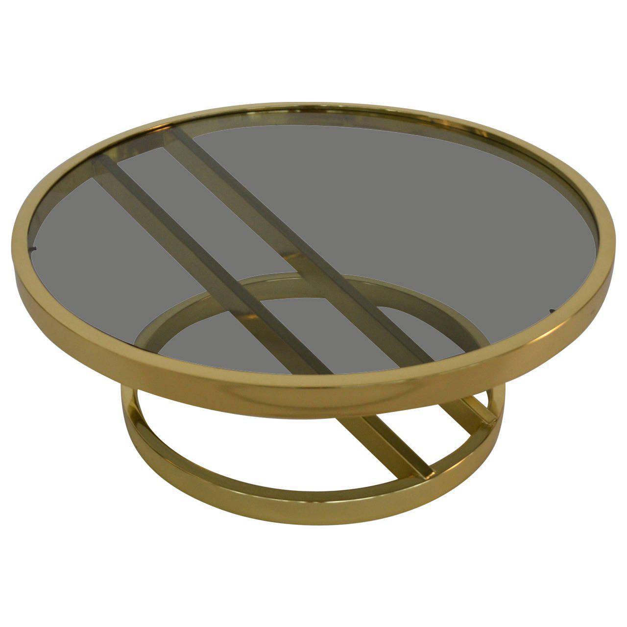 Milo Baughman Mid Century Modern Zig Zag Based Glass Coffee Table Chairish
