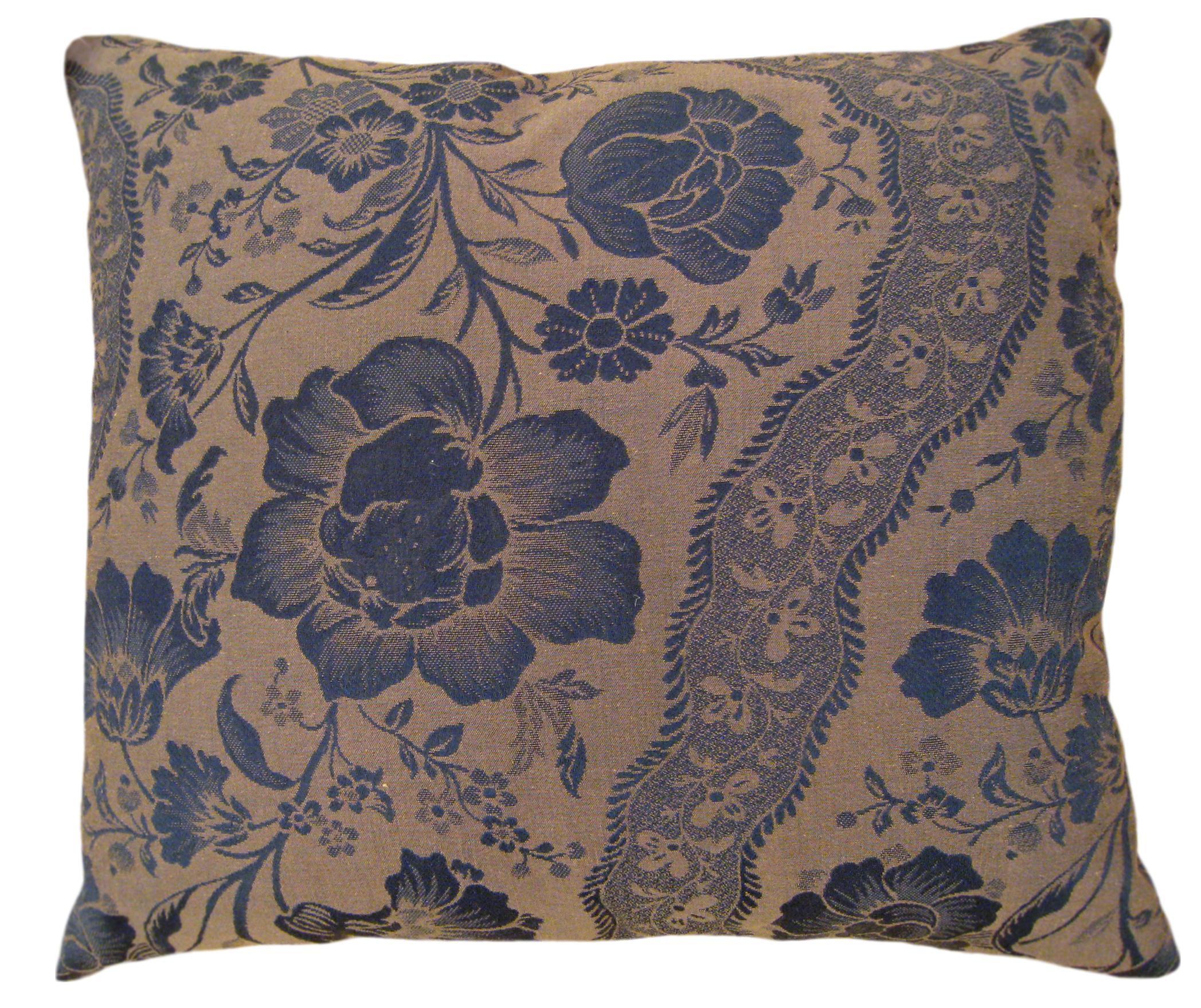 1950s Vintage Floral Decorative Pillow Chairish