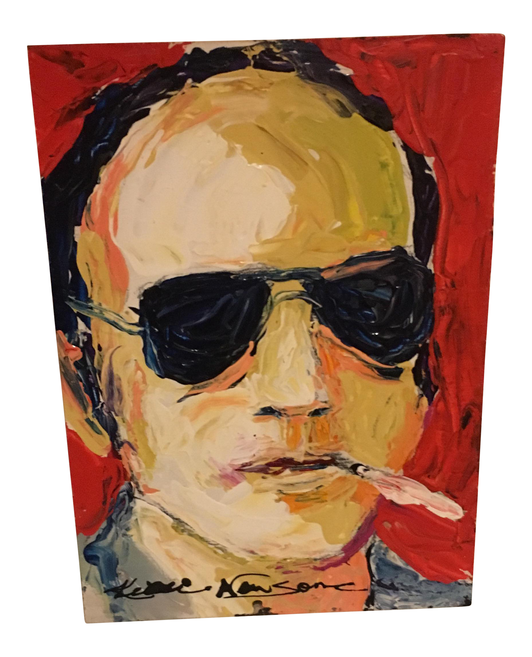 fear and loathing in las vegas anyone chairish With kitchen cabinets lowes with fear and loathing in las vegas wall art