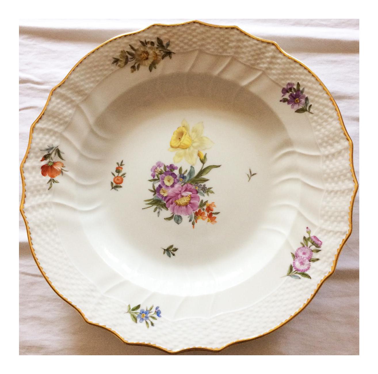 sc 1 st  Chairish & Saxon Flower Royal Copenhagen Dinner Plates - Set of 6 | Chairish