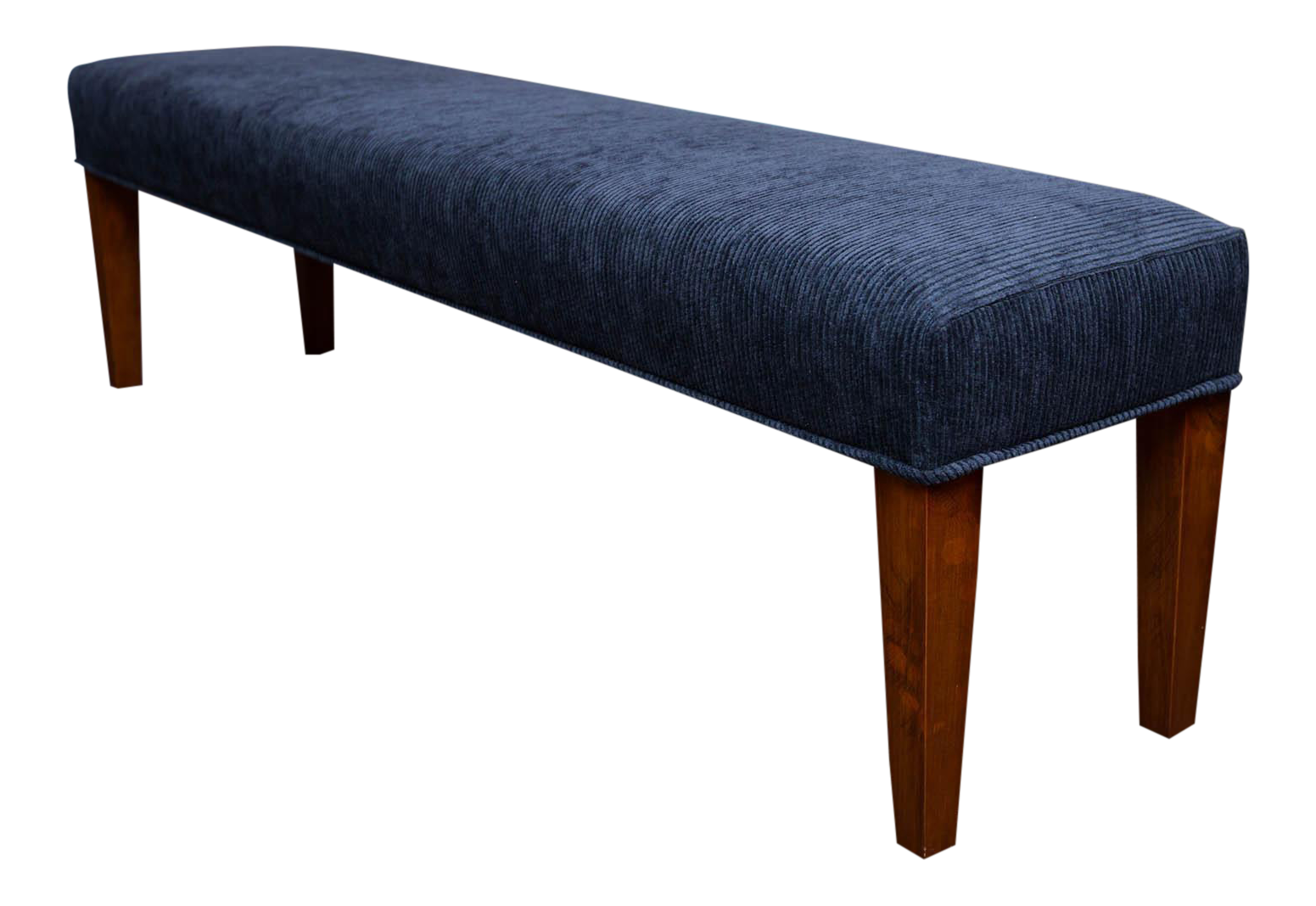 Long upholstered bench chairish Long upholstered bench