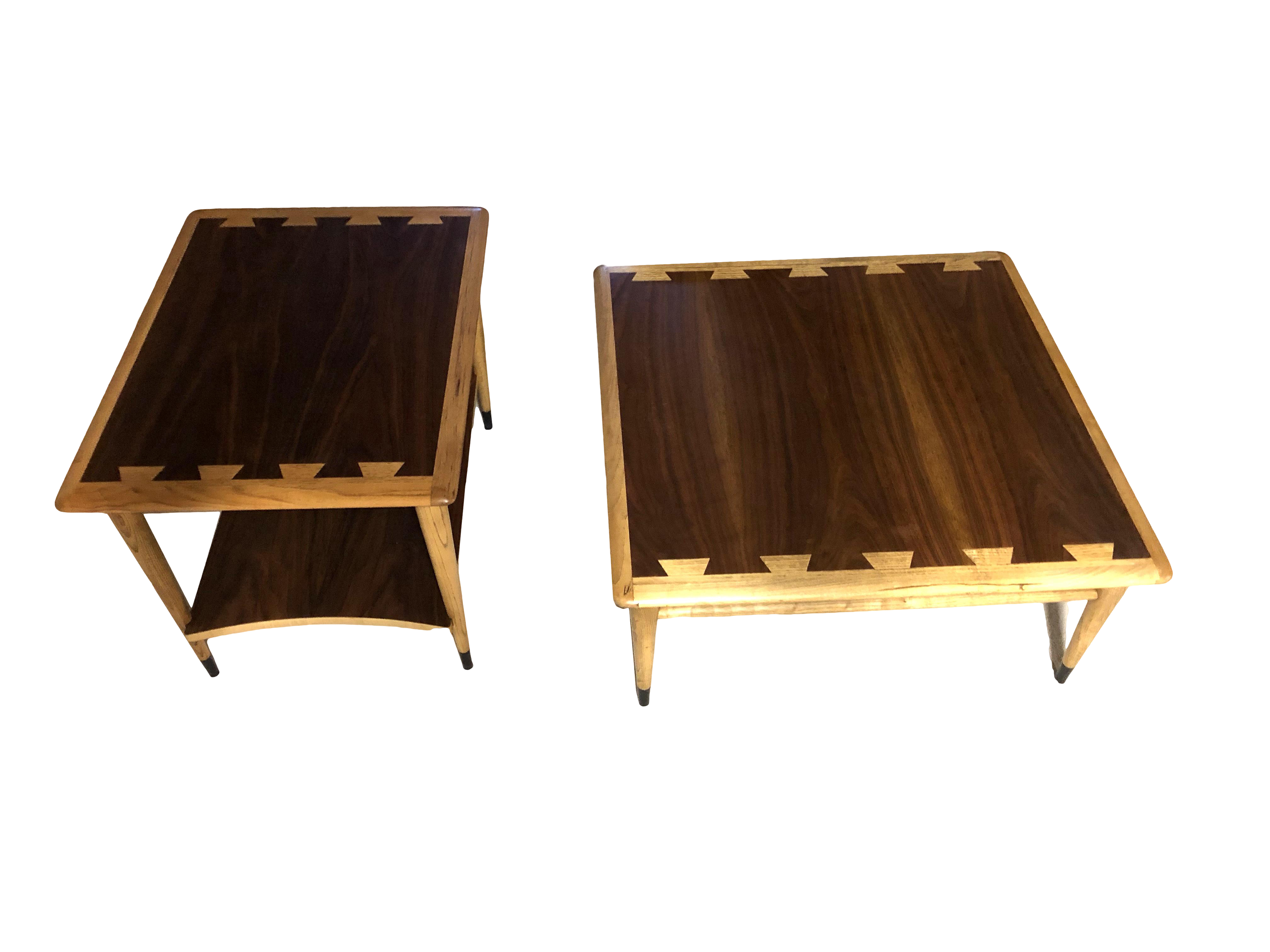 Image of: Lane Acclaim Mid Century Modern Coffee And End Tables A Pair Chairish