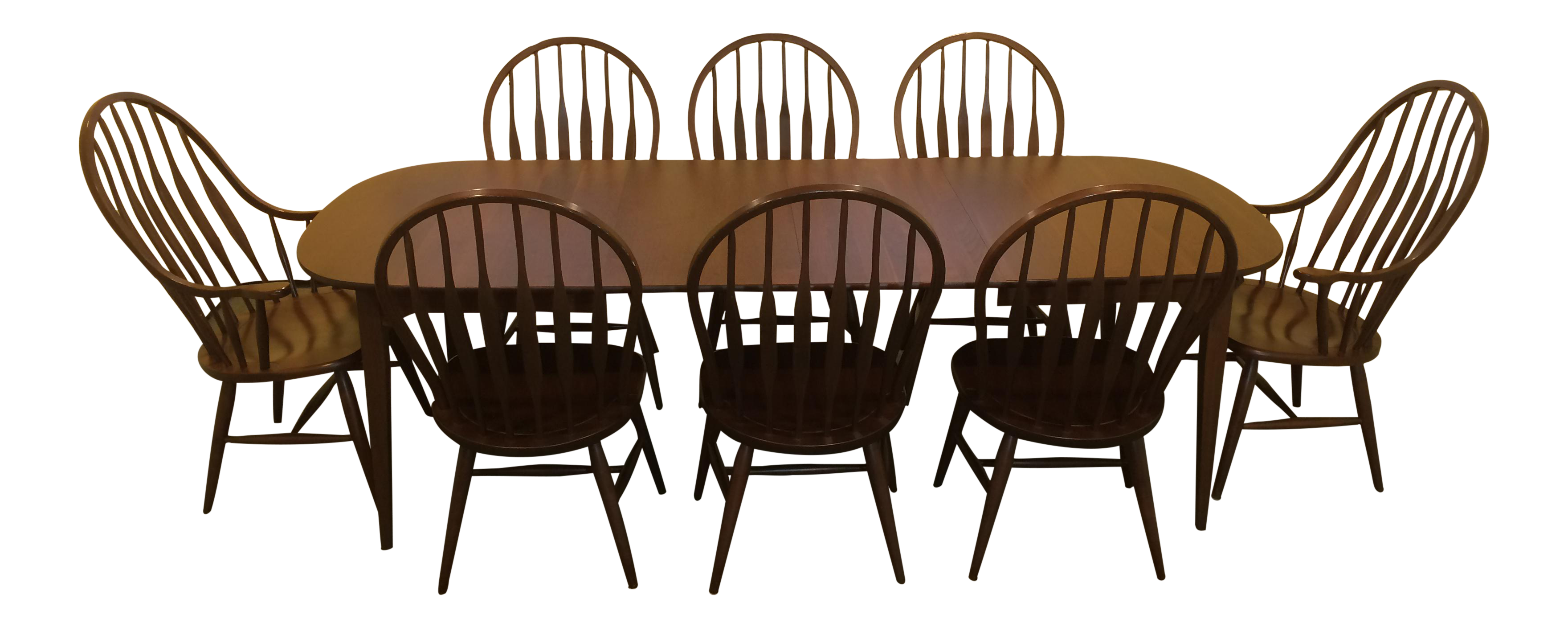 S Bent Bros Solid Cherry Dining Set Chairish