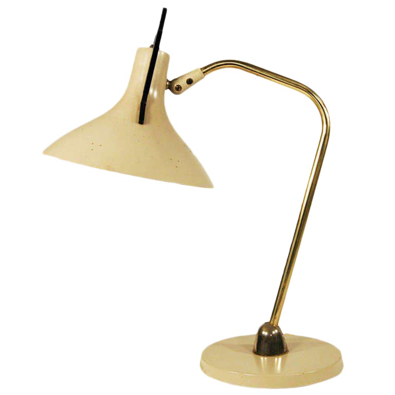 Excellent Maurizio Tempestini For Lightolier Anglepoise Desk Lamp Decaso