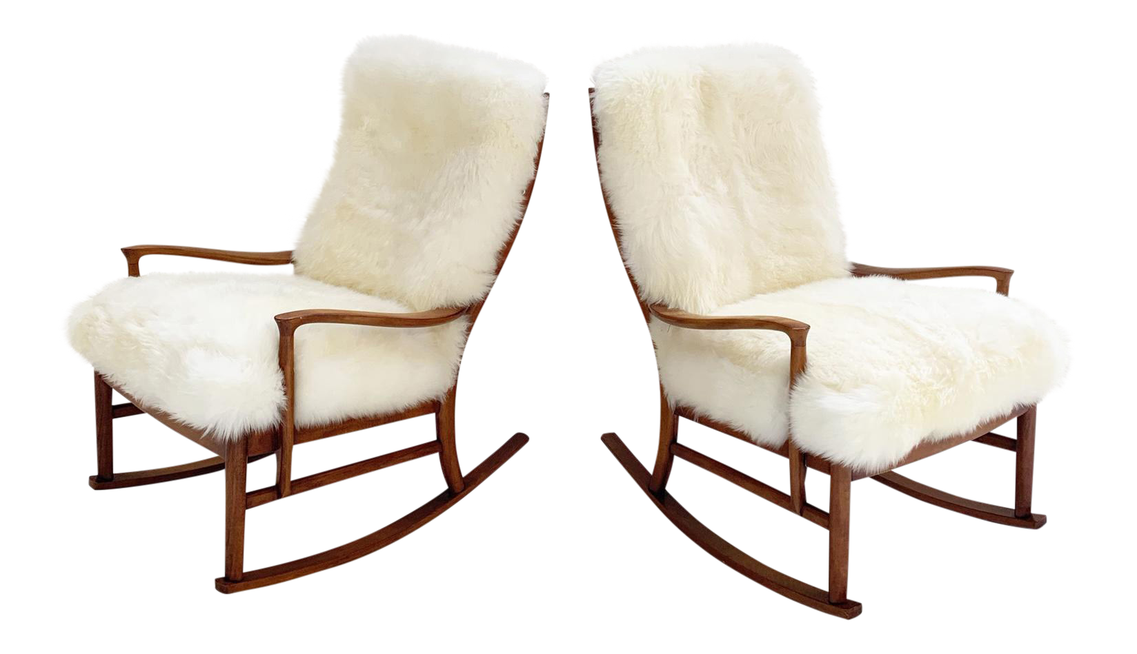 Brilliant Parker Knoll Rocking Chairs With New Zealand Sheepskin Cushions Pair Onthecornerstone Fun Painted Chair Ideas Images Onthecornerstoneorg