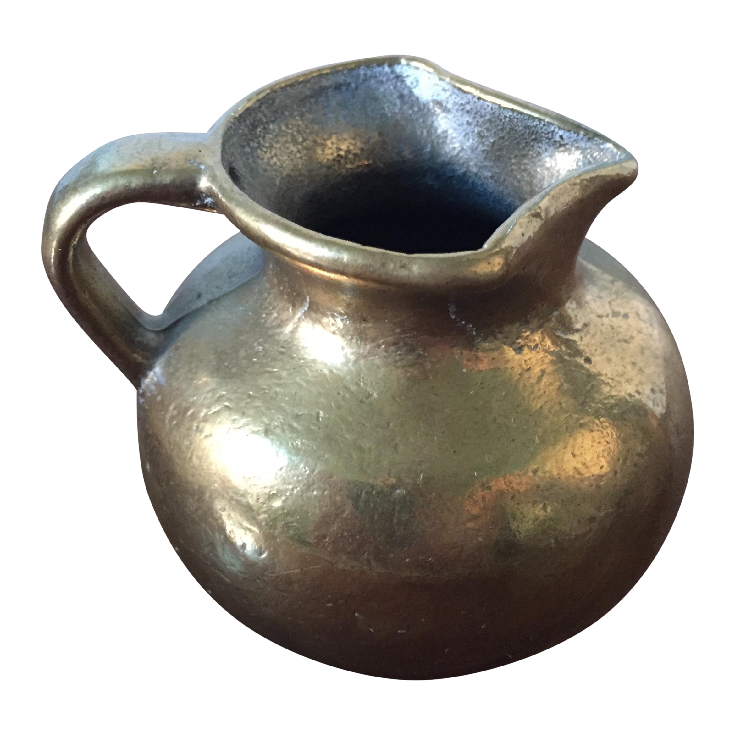 Vintage solid brass pitcher or vase chairish reviewsmspy
