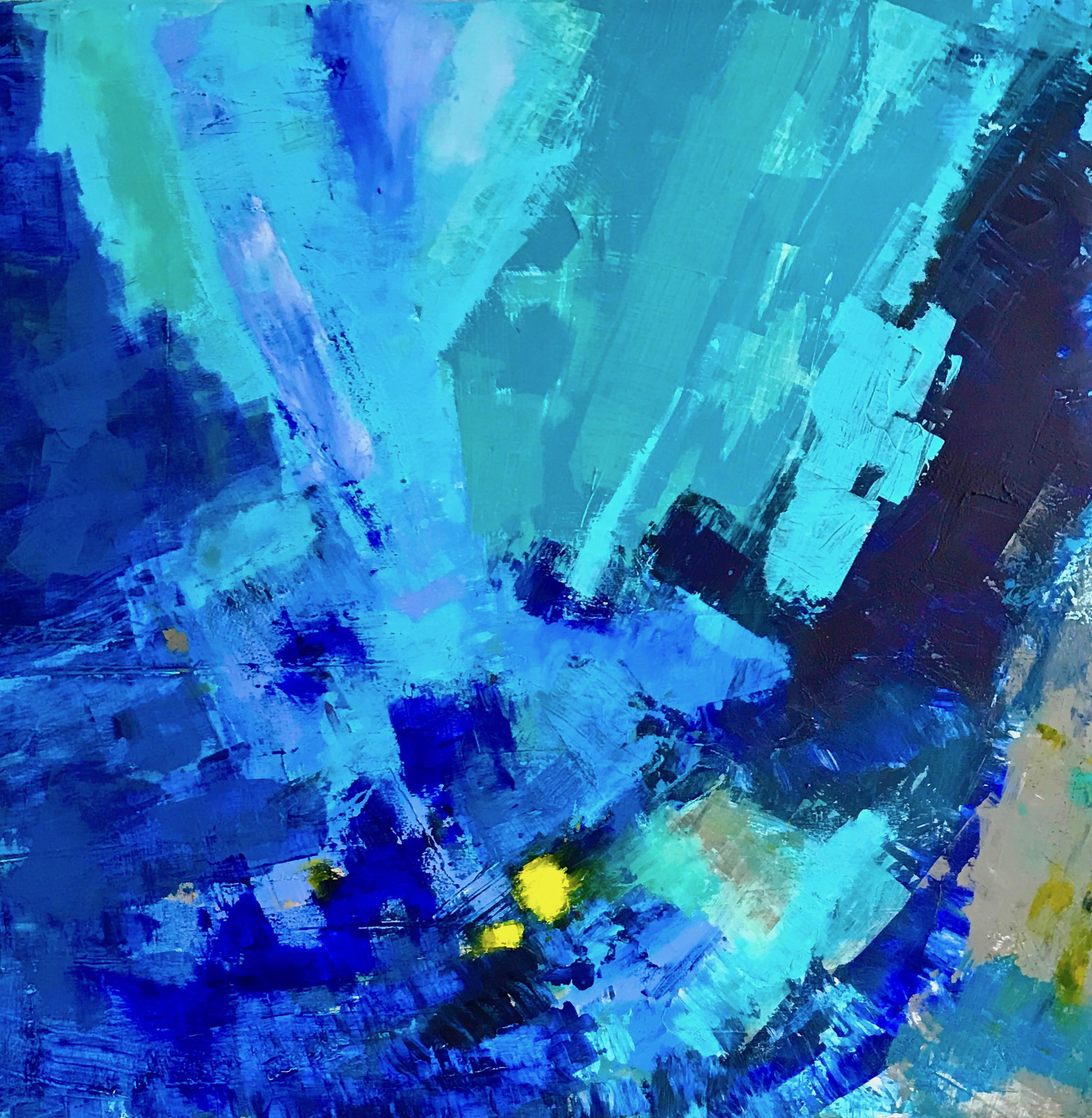 Quot Shades Of Water Quot Abstract Expressionism Painting Chairish