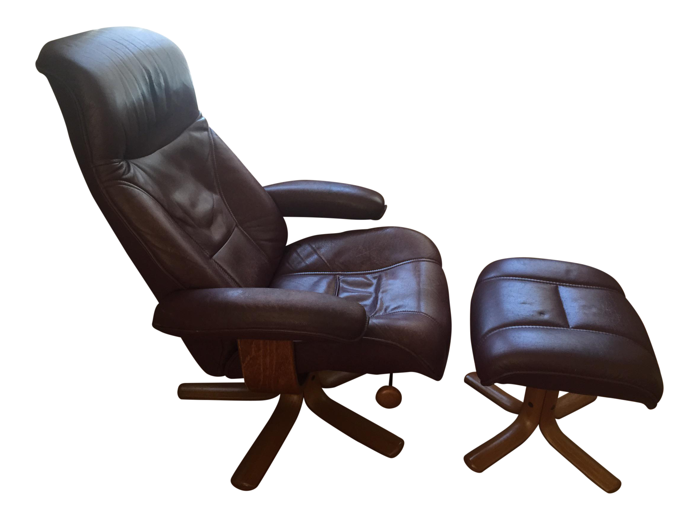 with leather recliner bello cindy swivel power collections crawford home glider ottoman brown furniture