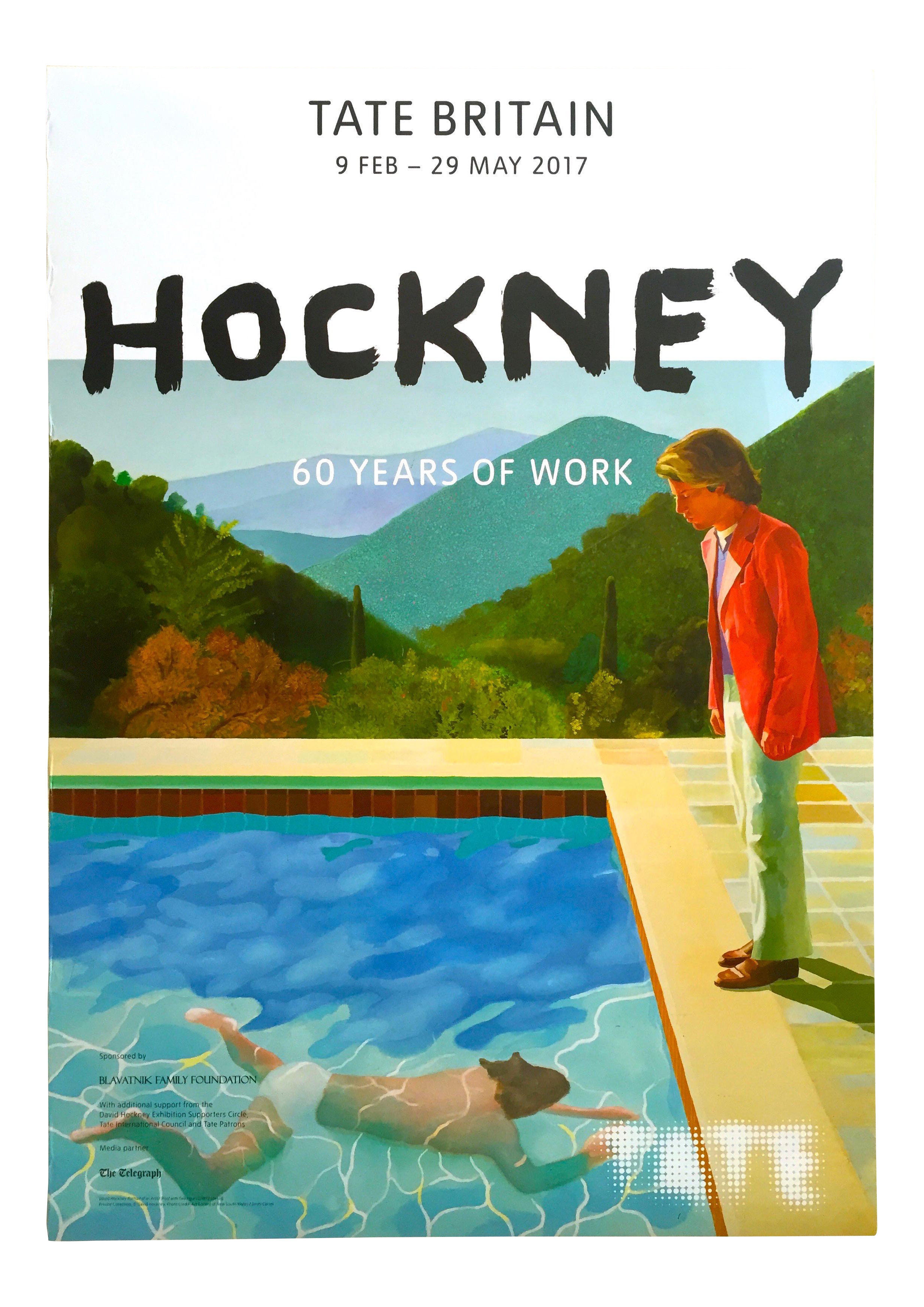 David Hockney Tate Museum Lithograph Print Quot 60 Years Of