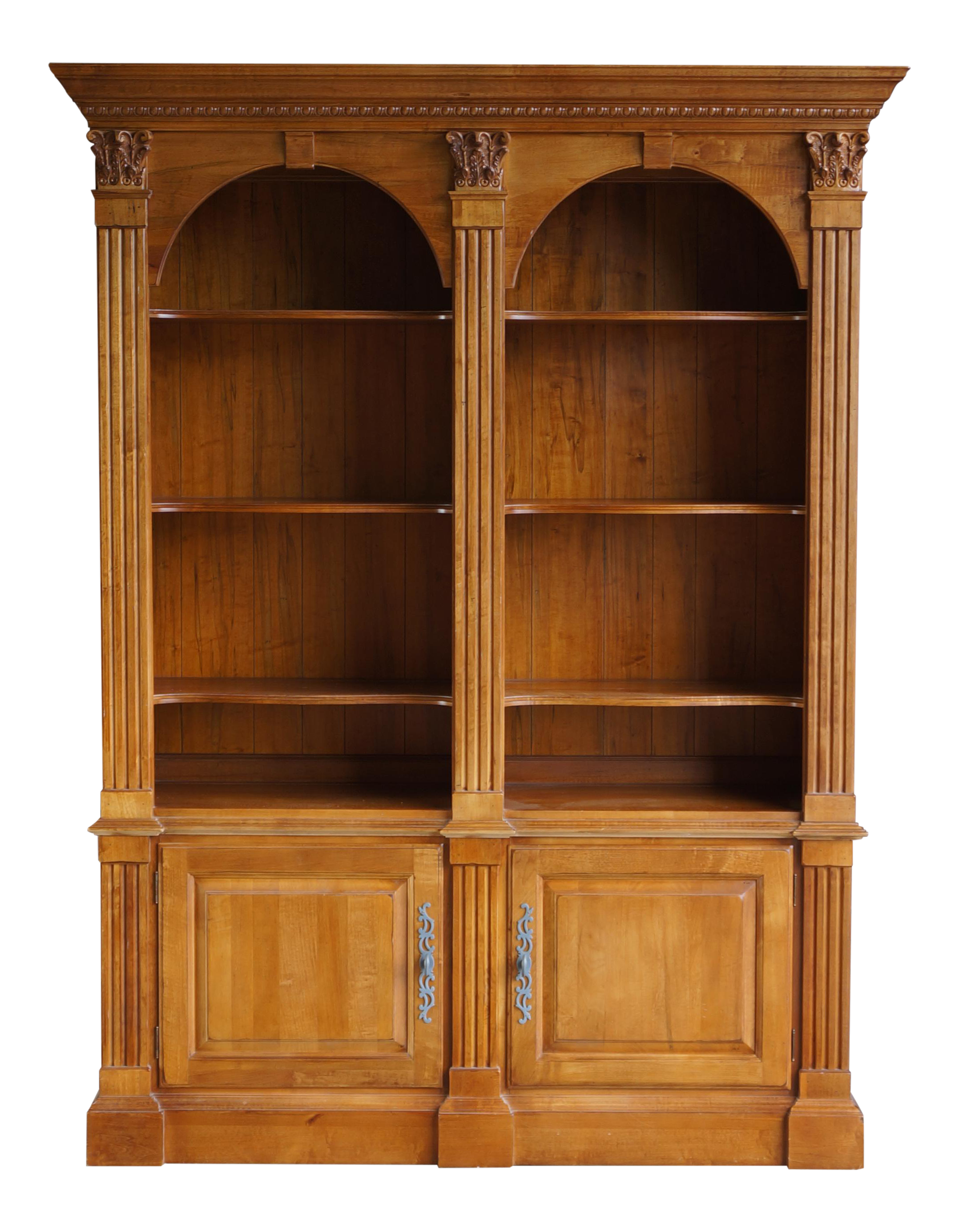 for villa sale library bookcase allen front ethan bookcases