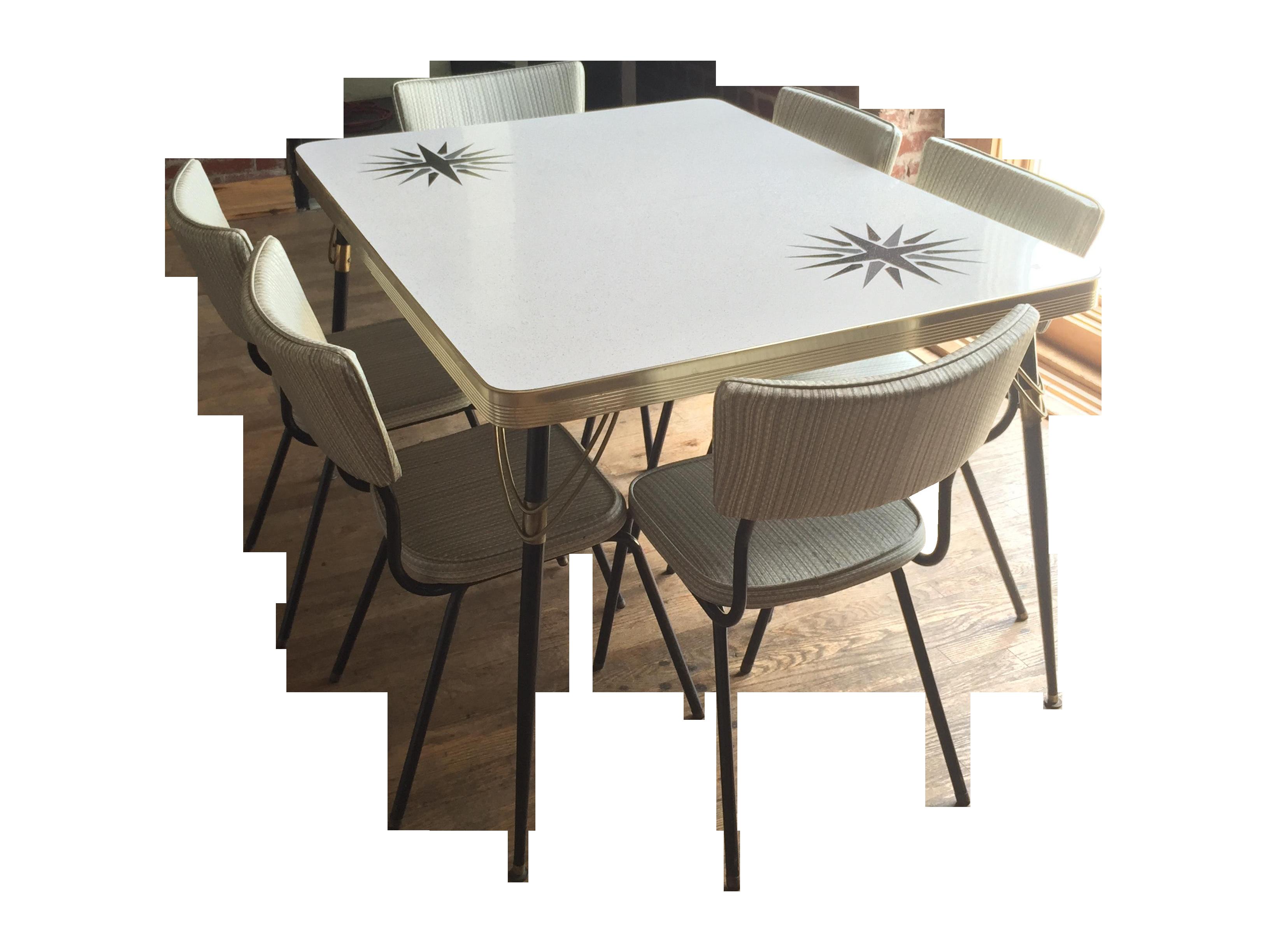 Strange 1960S Vintage Formica Dining Set Creativecarmelina Interior Chair Design Creativecarmelinacom