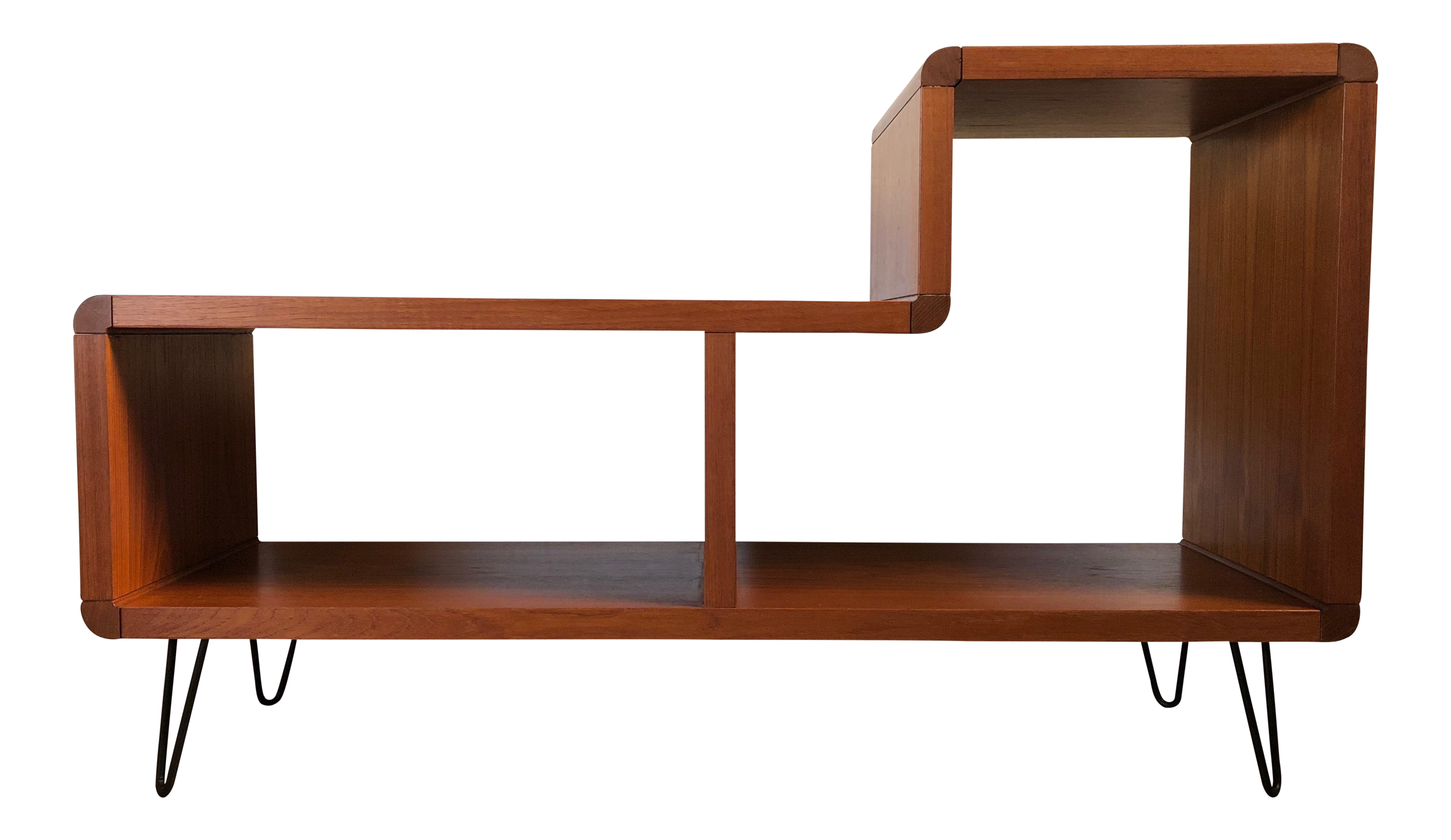 premium selection 3c25d fd1ca Mid-Century Modern Media Cabinet With Hairpin Legs