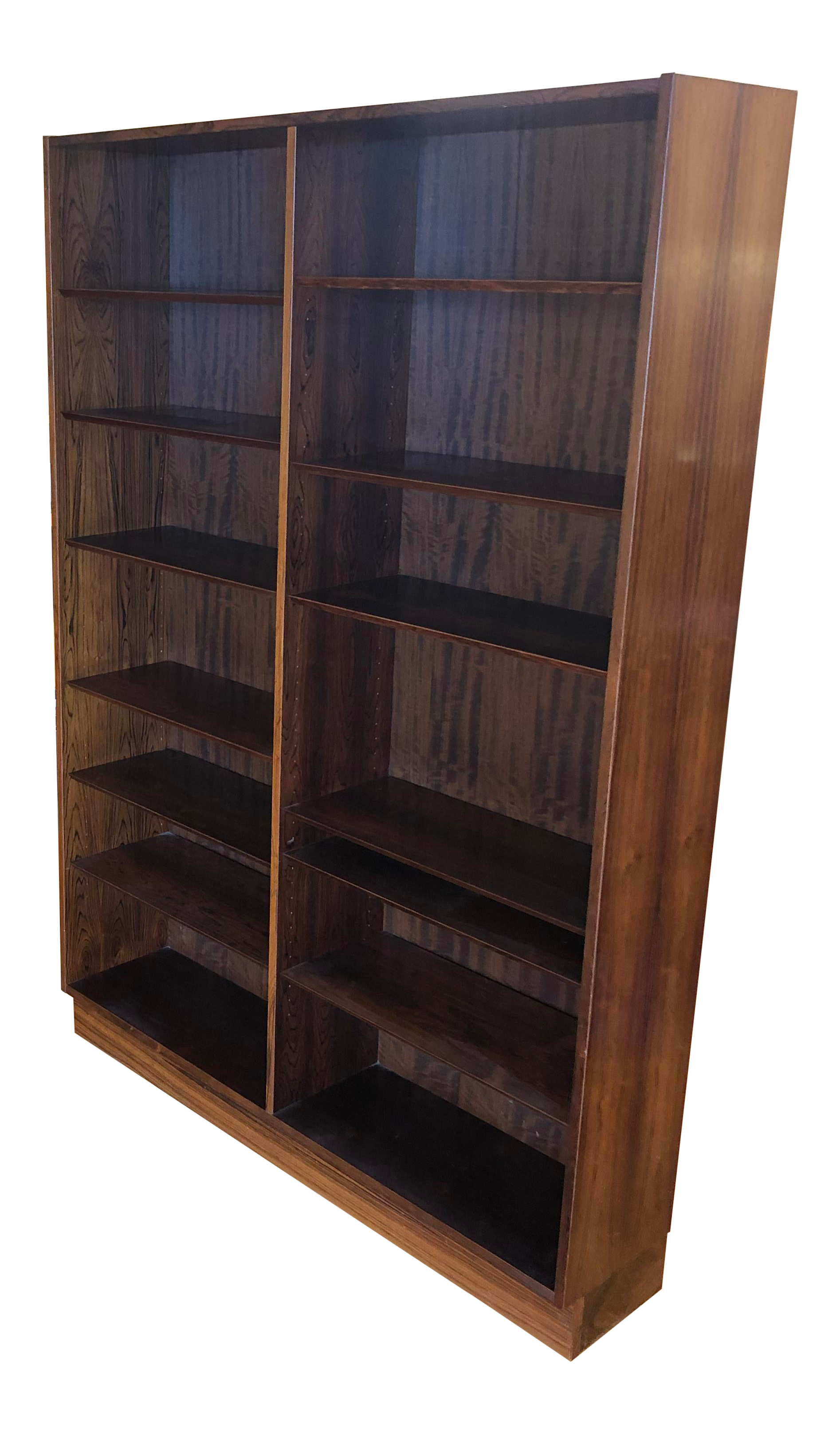 Poul Hundevad Danish Rosewood Mid Century Bookcase