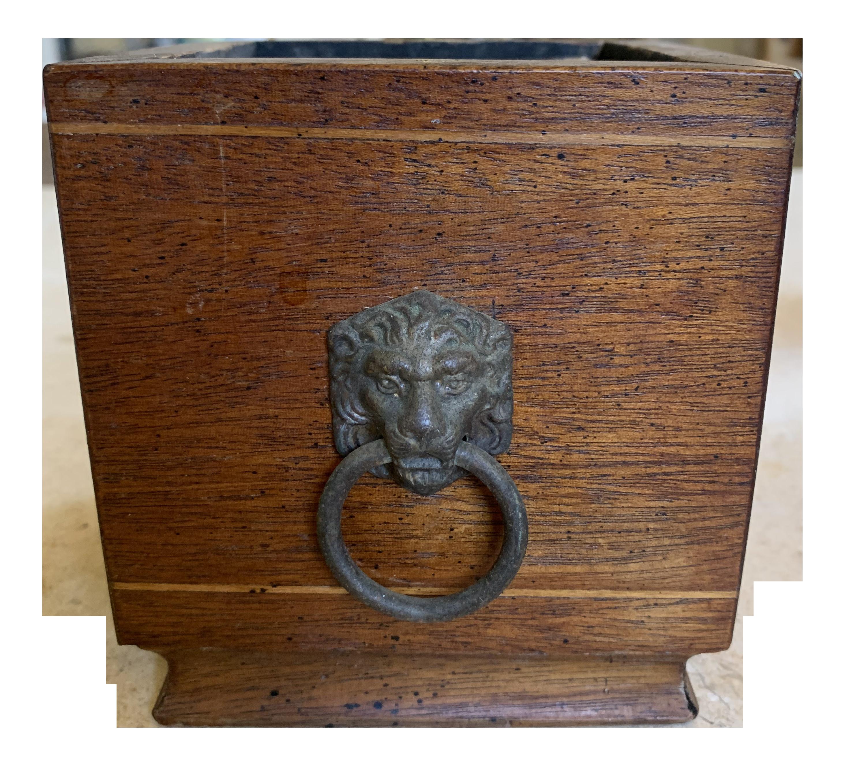 19th Century English Wood Planter Chairish
