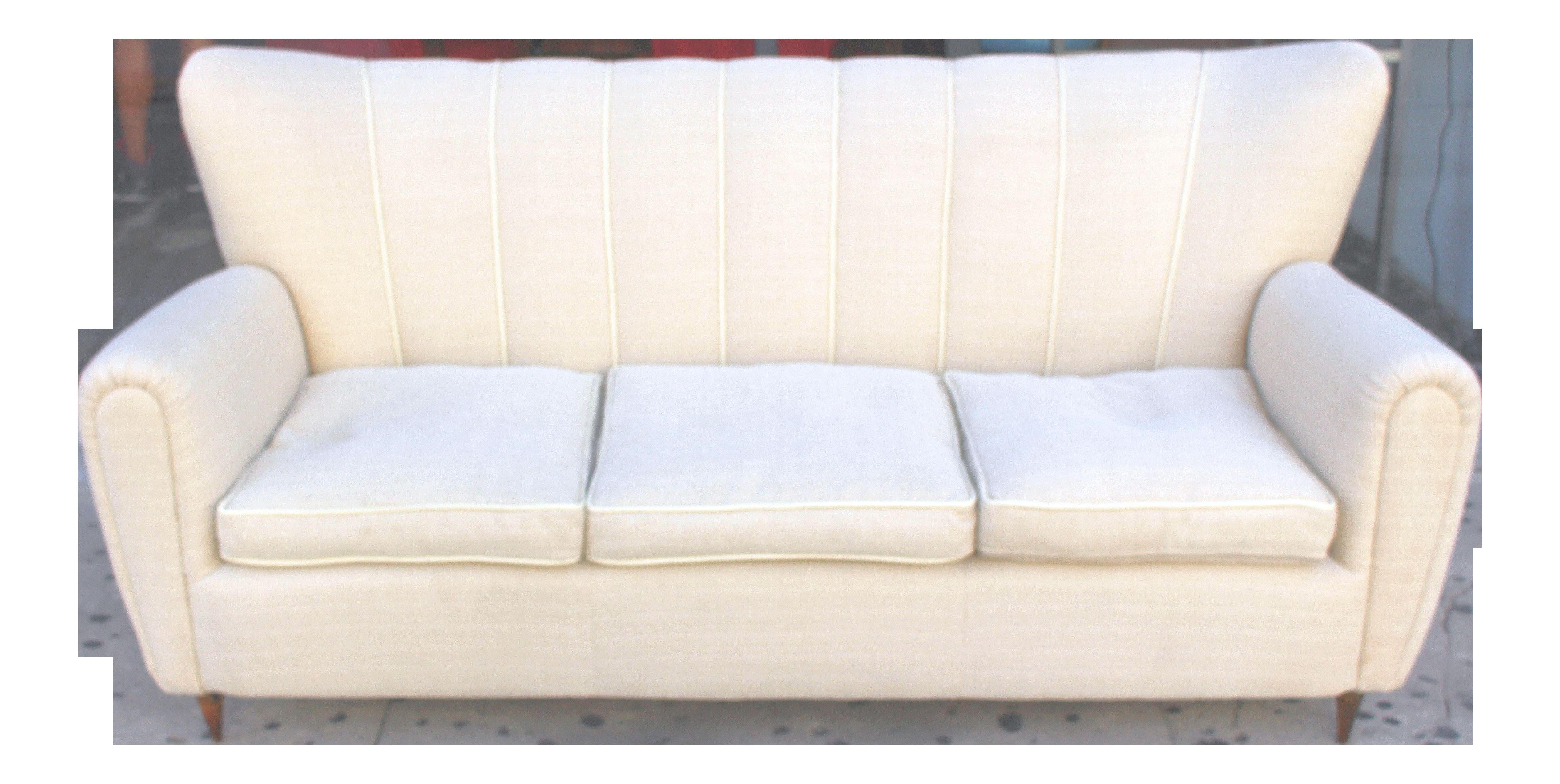 1950s Vintage Guglielmo Ulrich Style Italian Sofa | Chairish