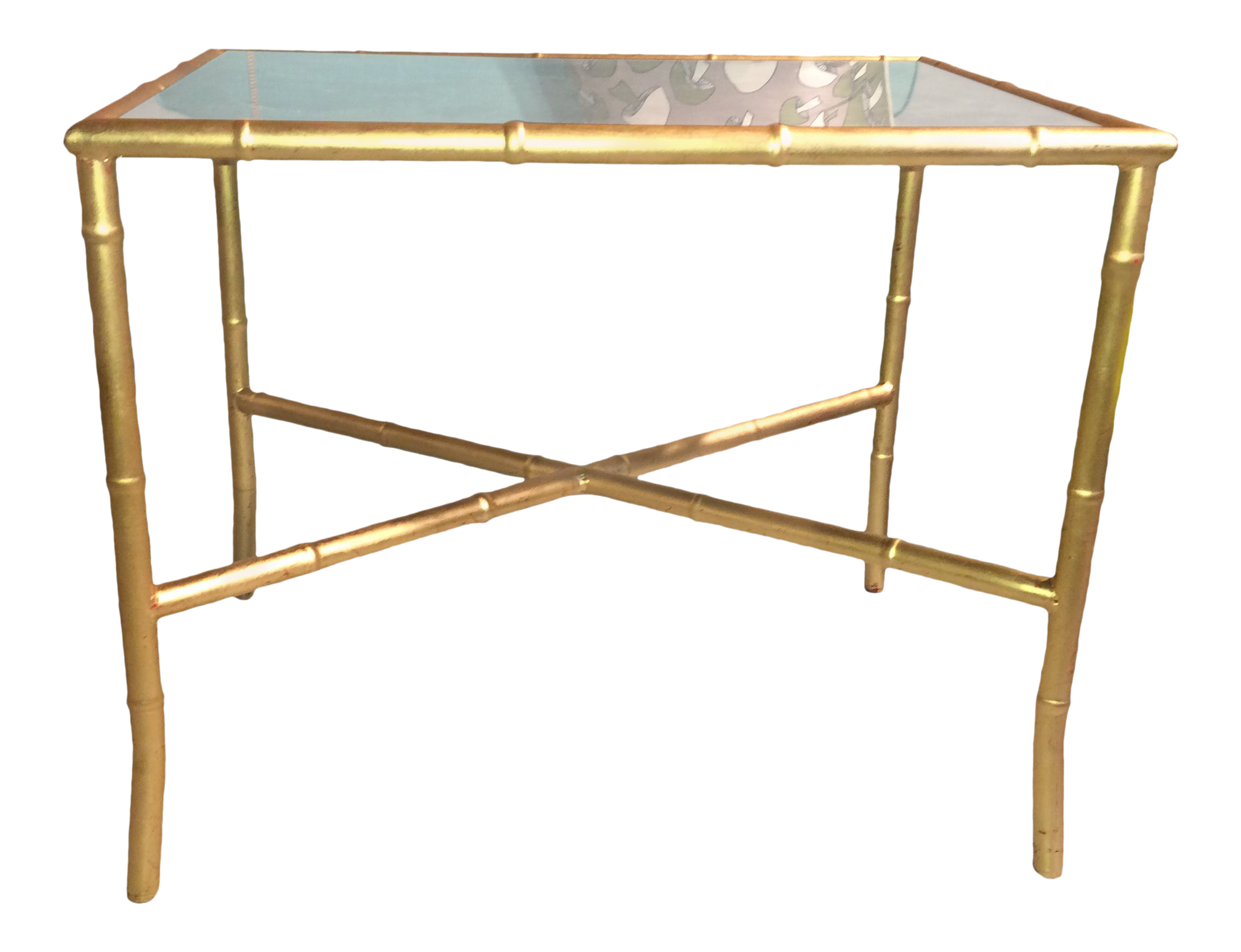 home table aflair one mirror product living side drawer emile tables for