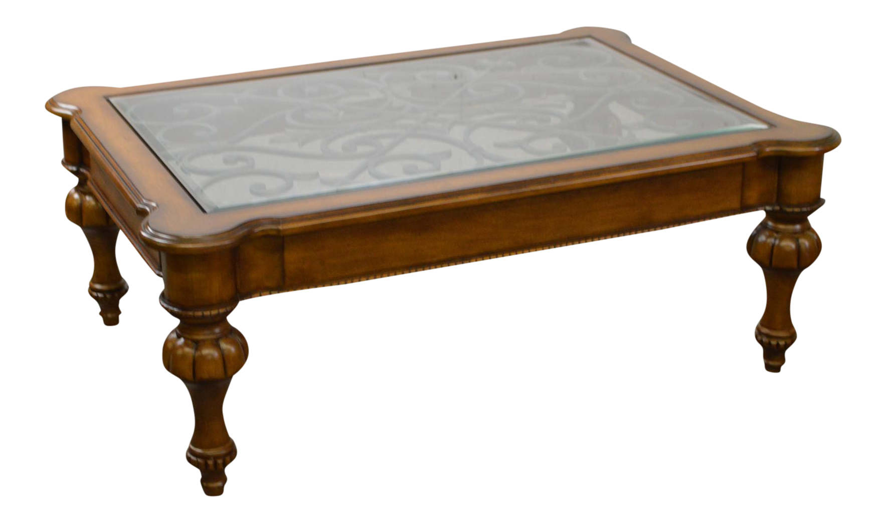 Ethan Allen Devereaux Tuscan Style Coffee Table B
