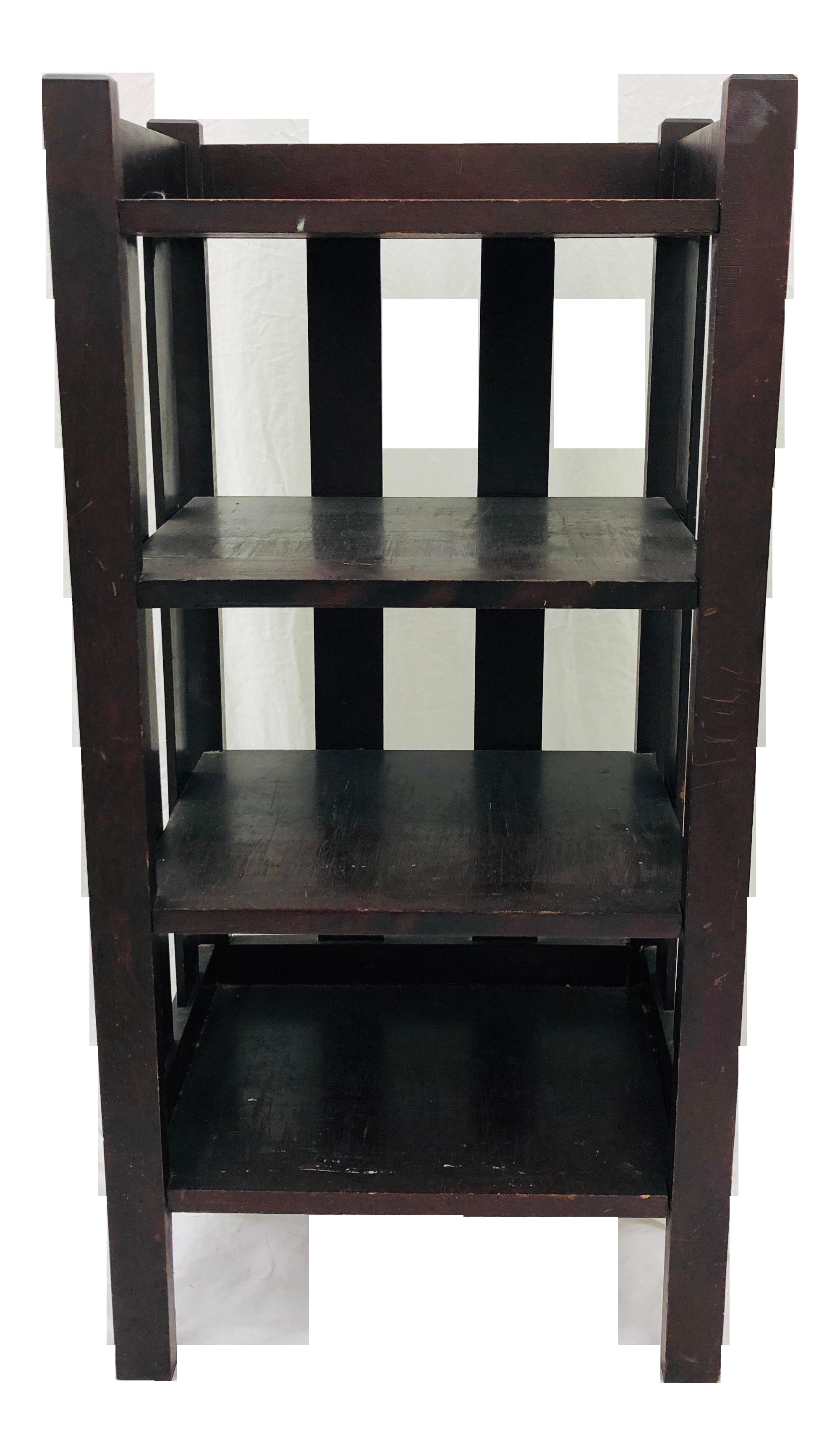 Antique Mission Style Bookcase
