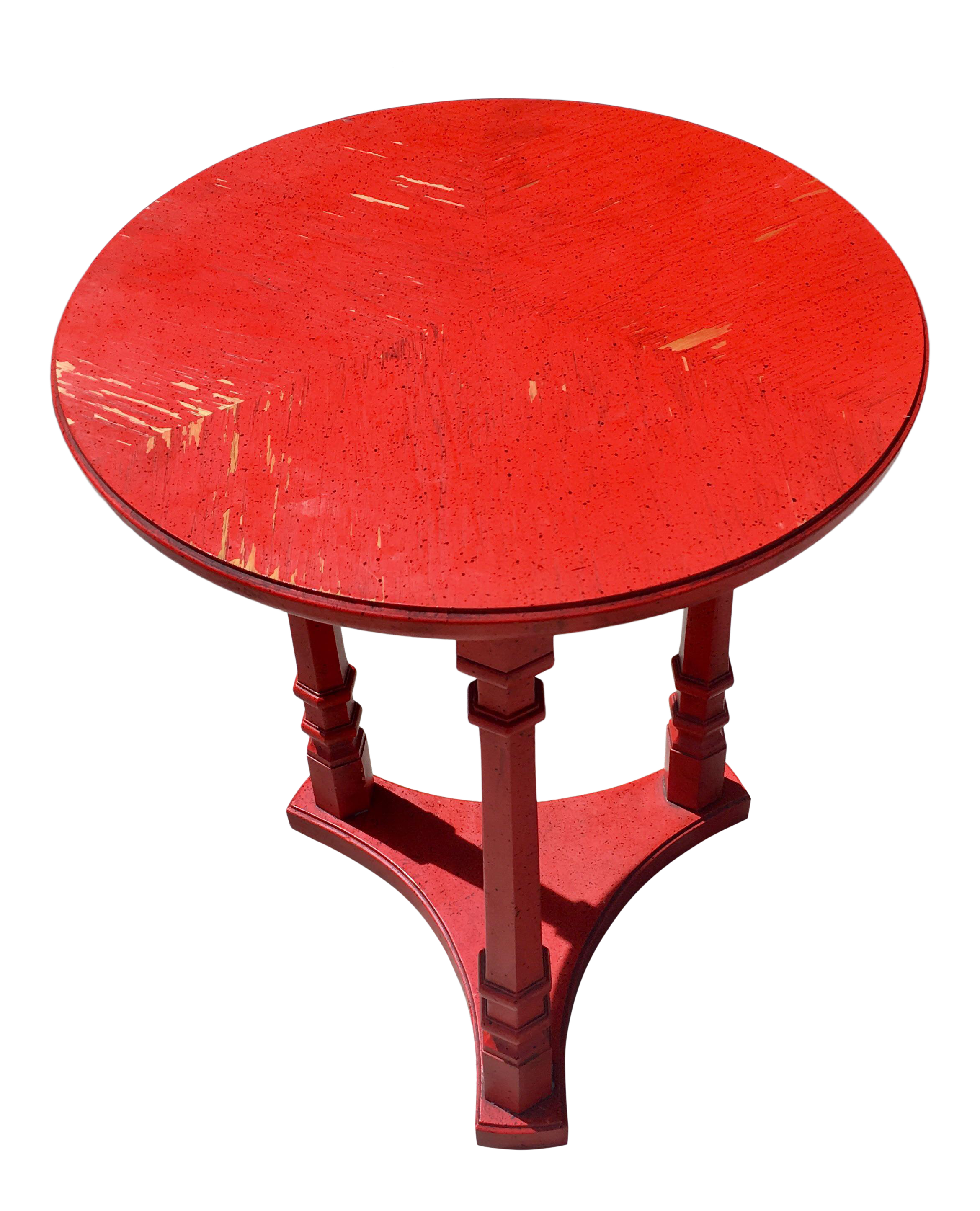 - Chinese Red Lacquered Empire Accent Table Chairish