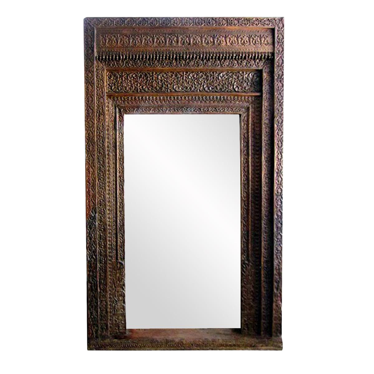 Vintage Old Door Mirror Frame Chairish