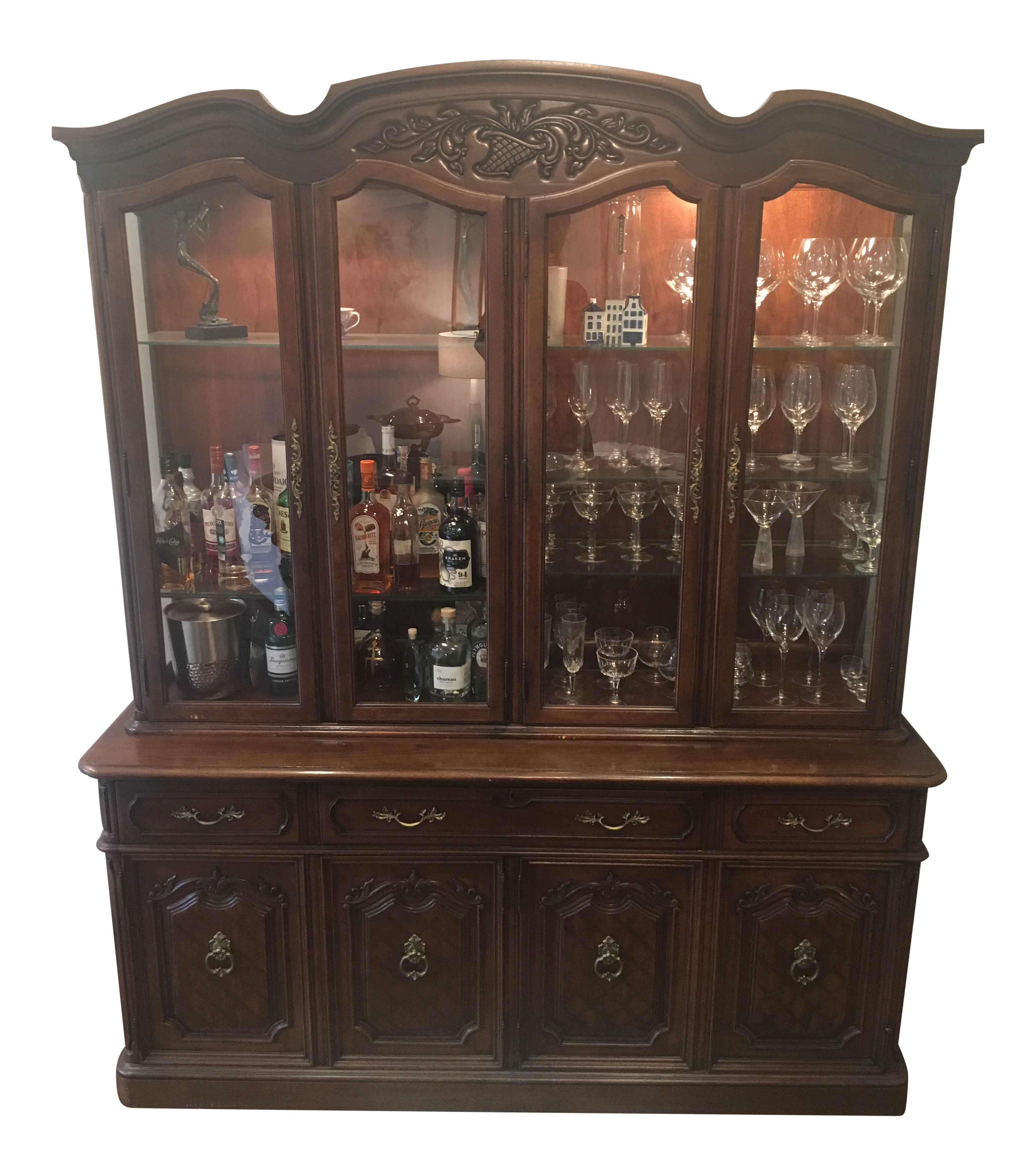 Thomasville China Cabinet 1970 S Cabinets Matttroy