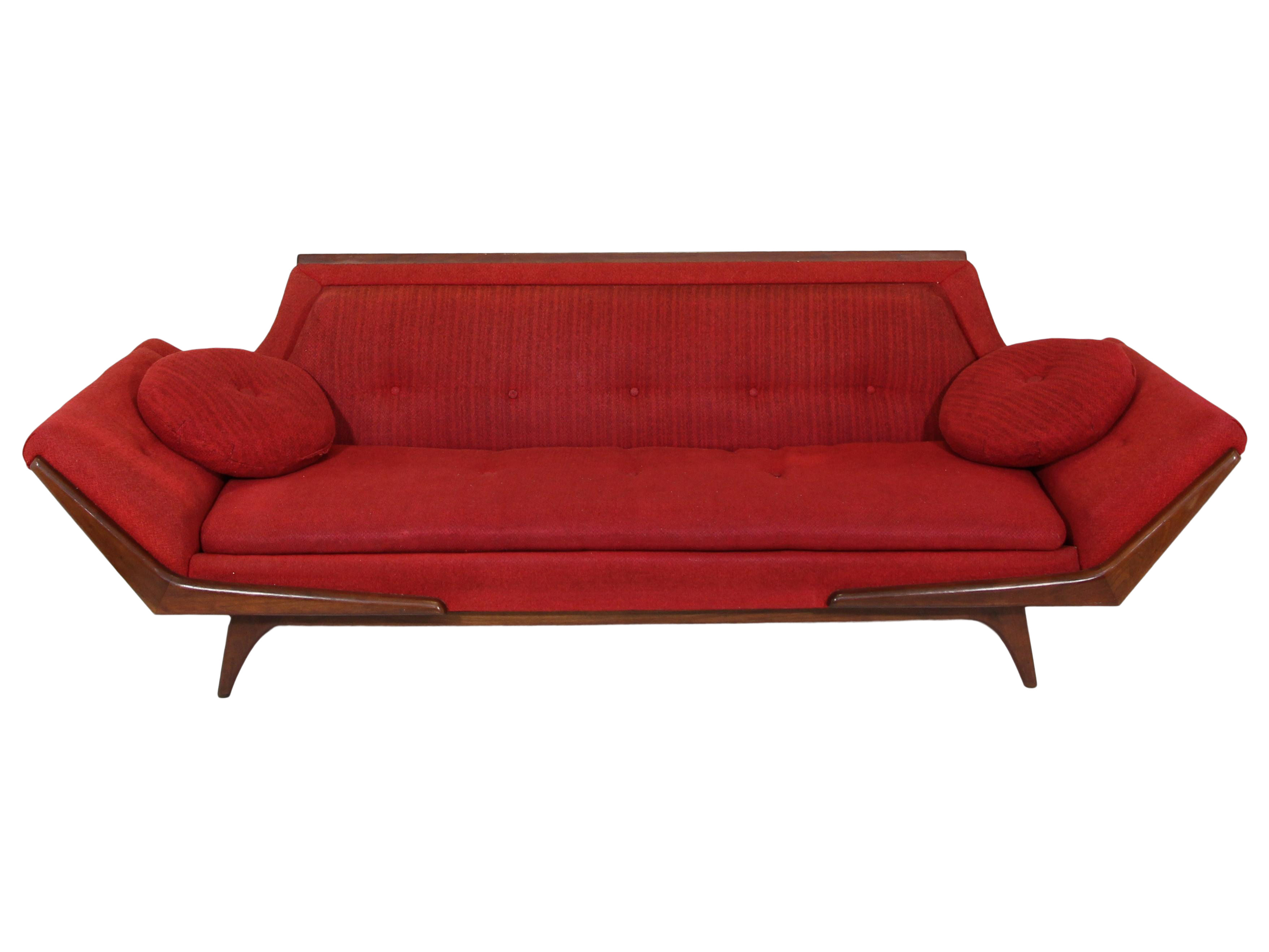 Excellent Mid Century Sofa Inspired By Adrian Pearsall Made By Rowe Short Links Chair Design For Home Short Linksinfo