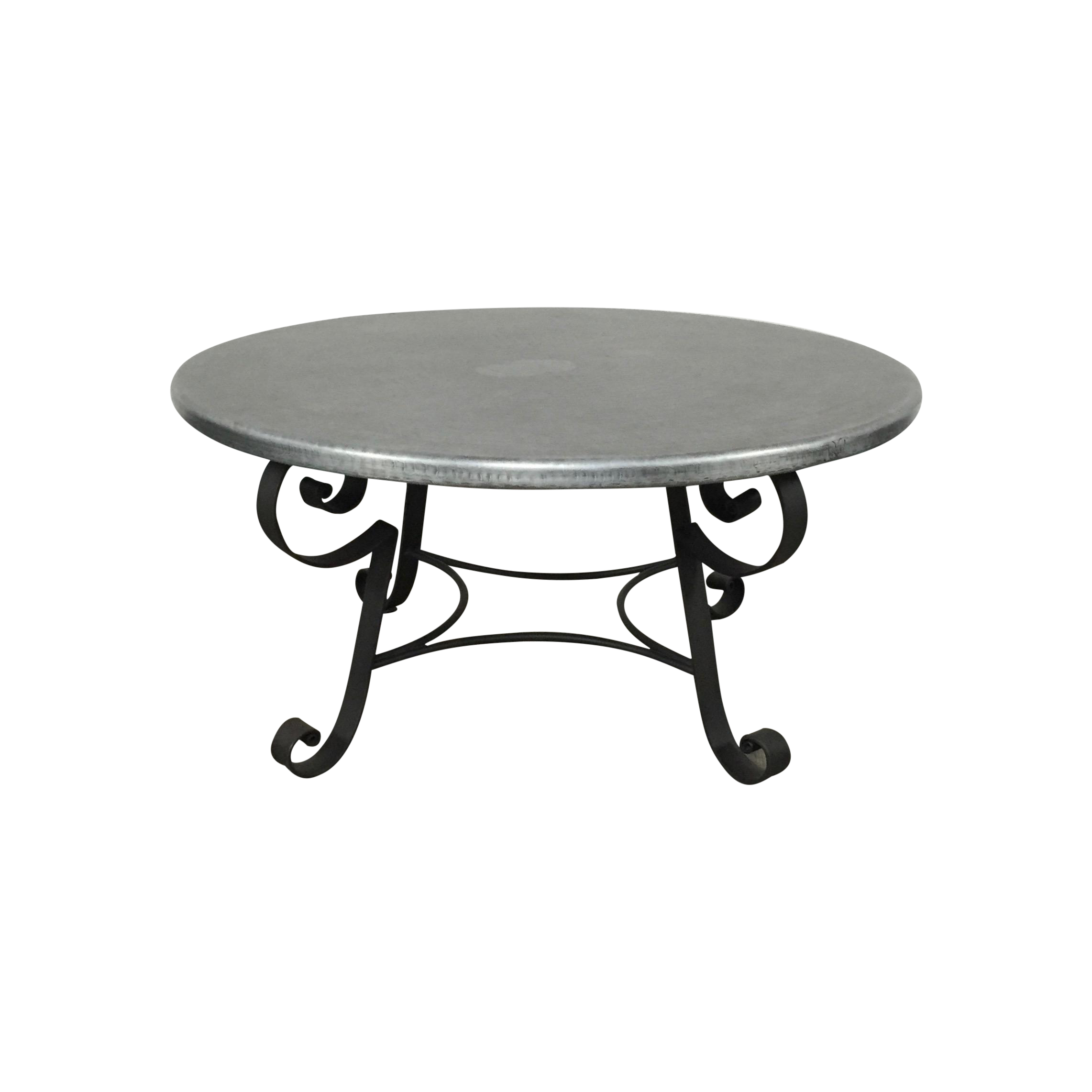 Zinc Top Coffee Table by Arhaus