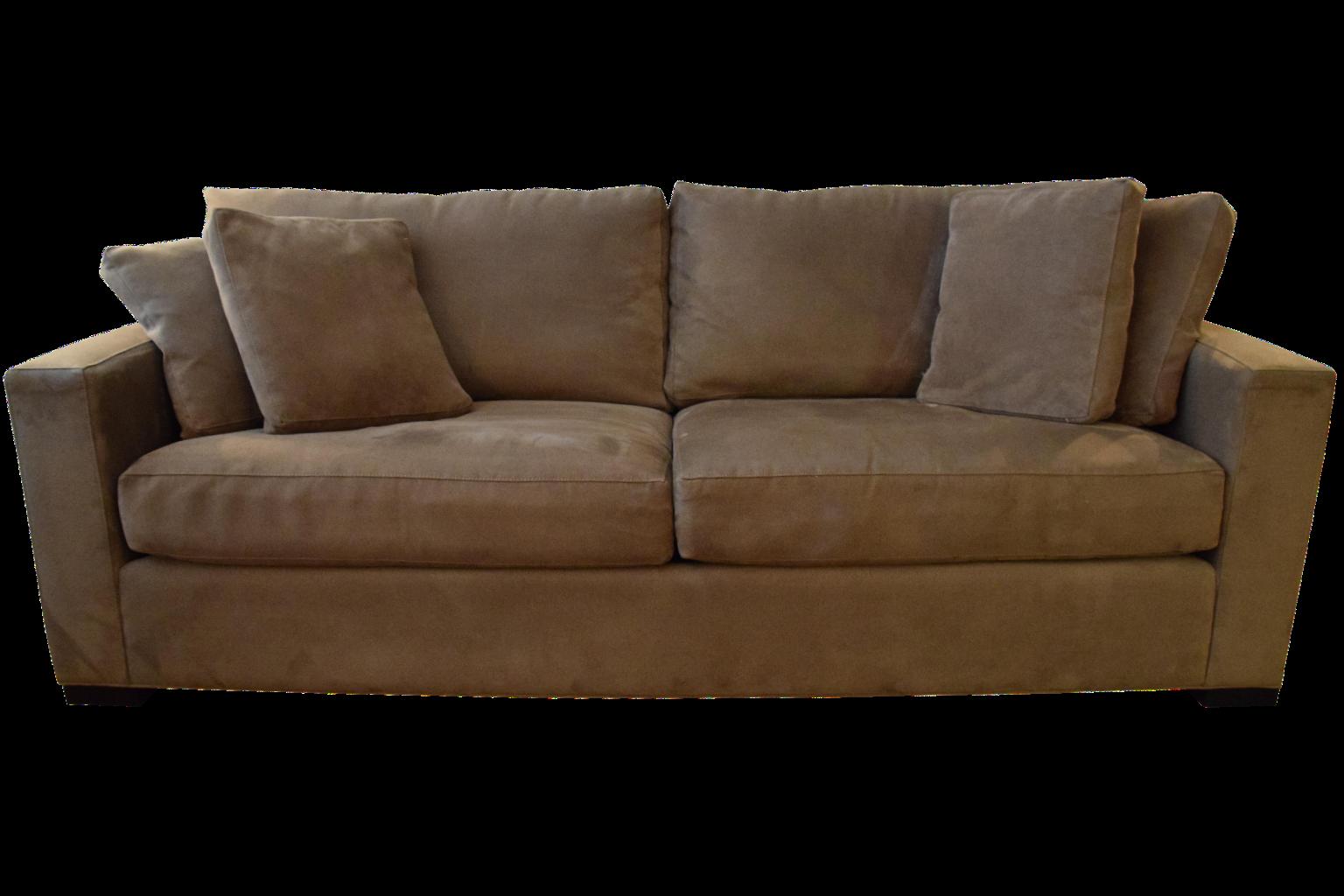 Crate Barrel Axis Ii 2 Seat Sofa Chairish
