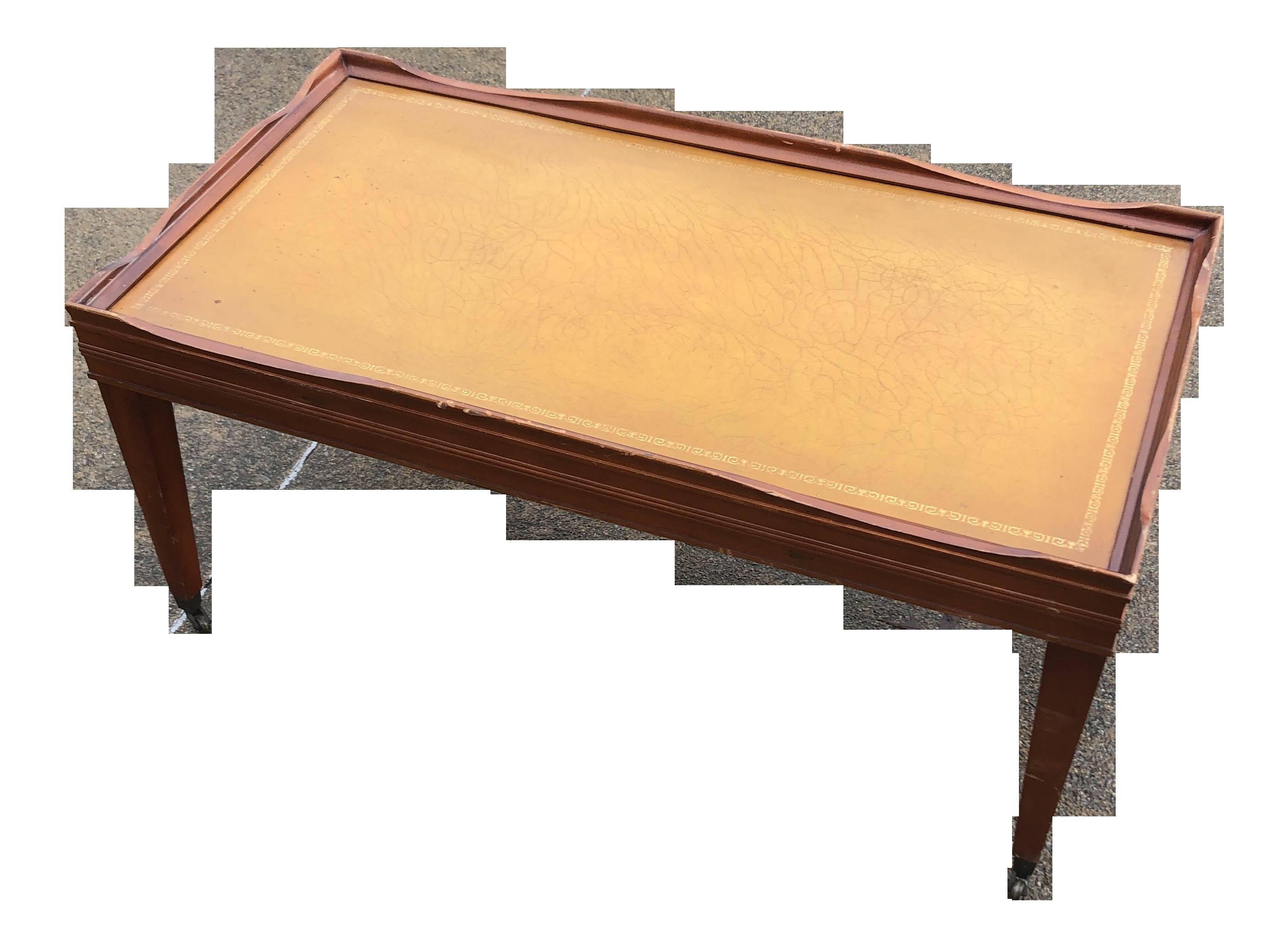 English Small Wooden Coffee Table Chairish