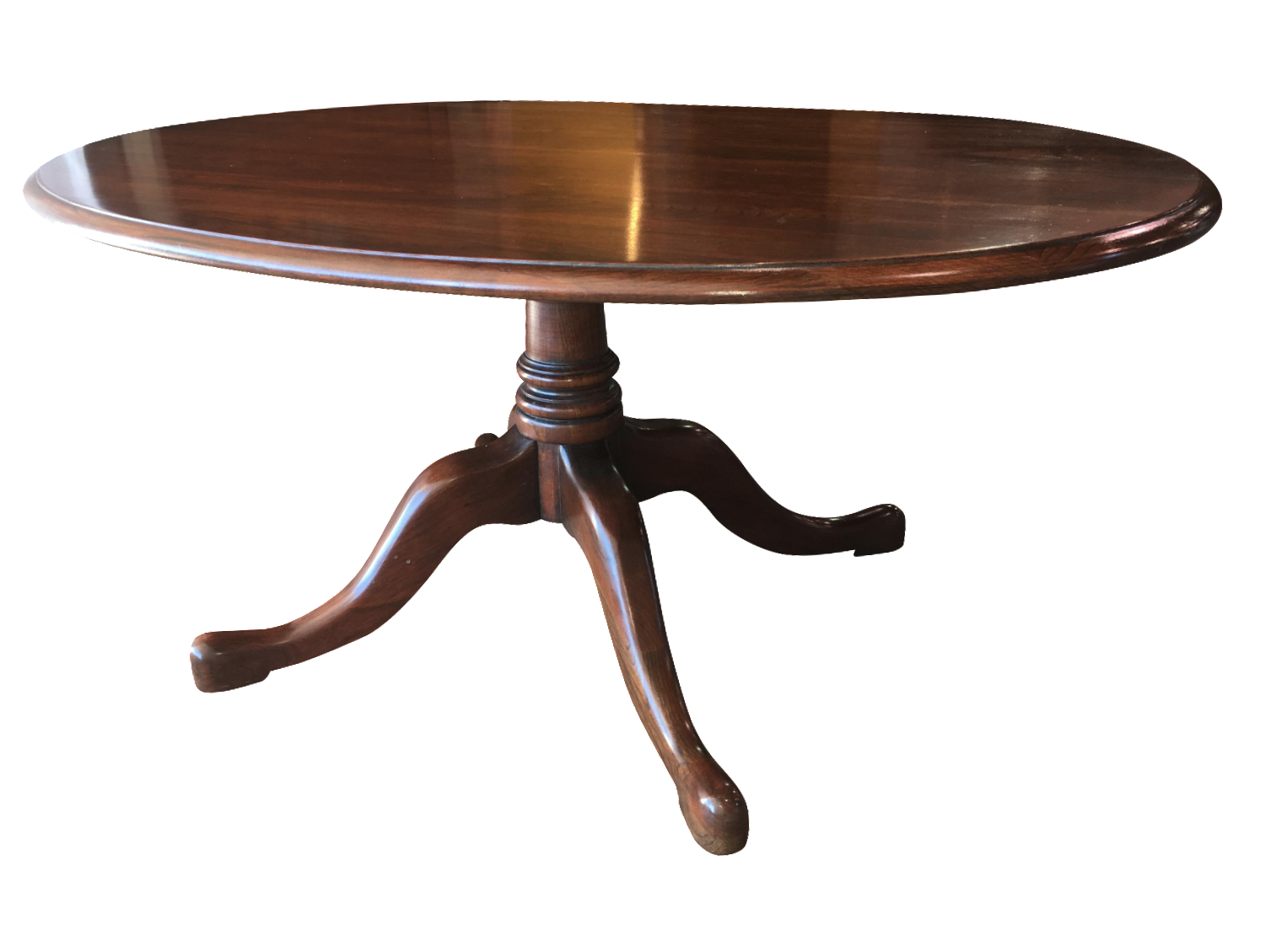 Pennsylvania House Oval Coffee Table Chairish Rh Com Dining Room Cherry Furniture