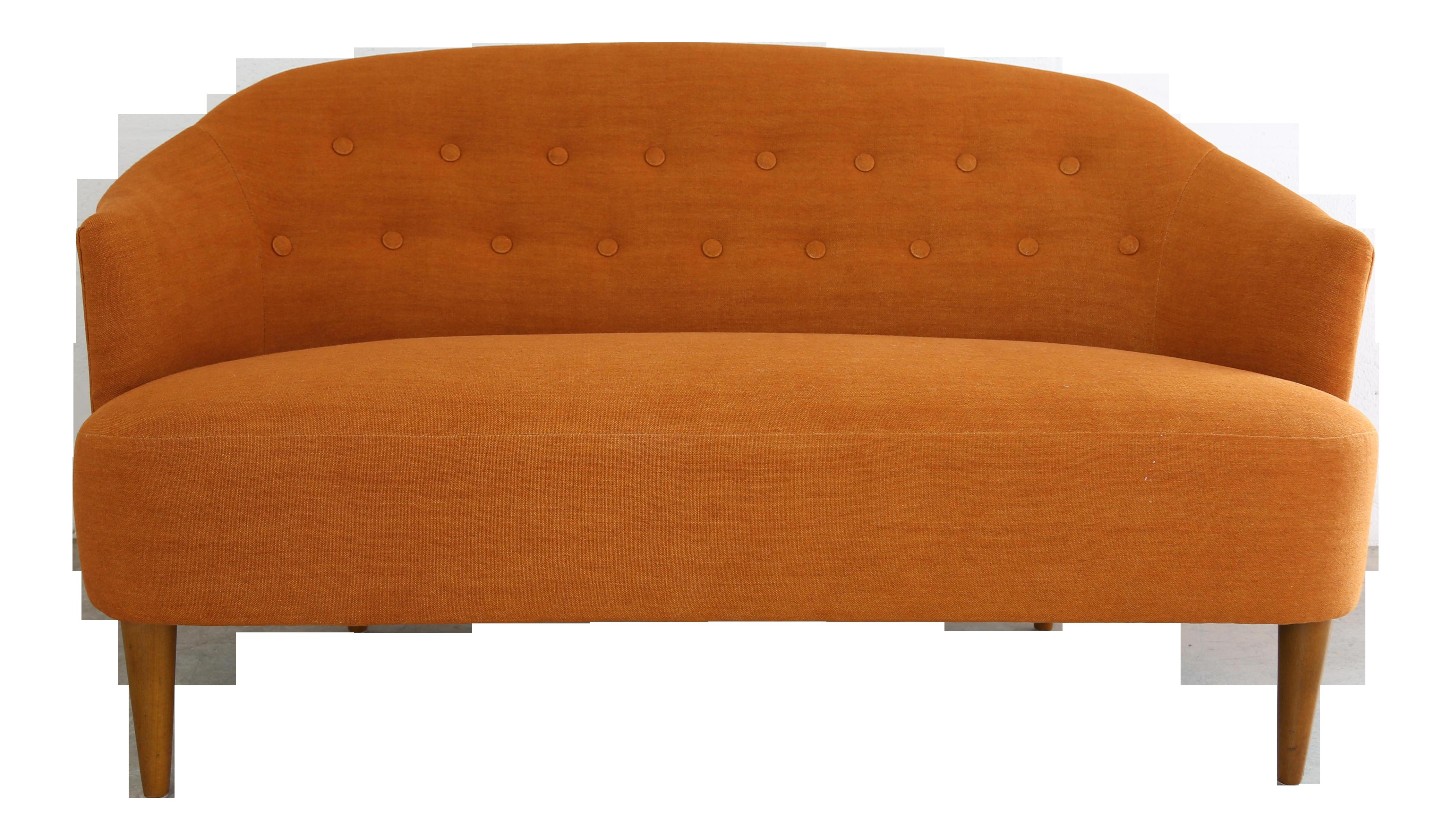 Carl Malmsten Berlin Design Swedish Mid-Century Modern 2 Seater