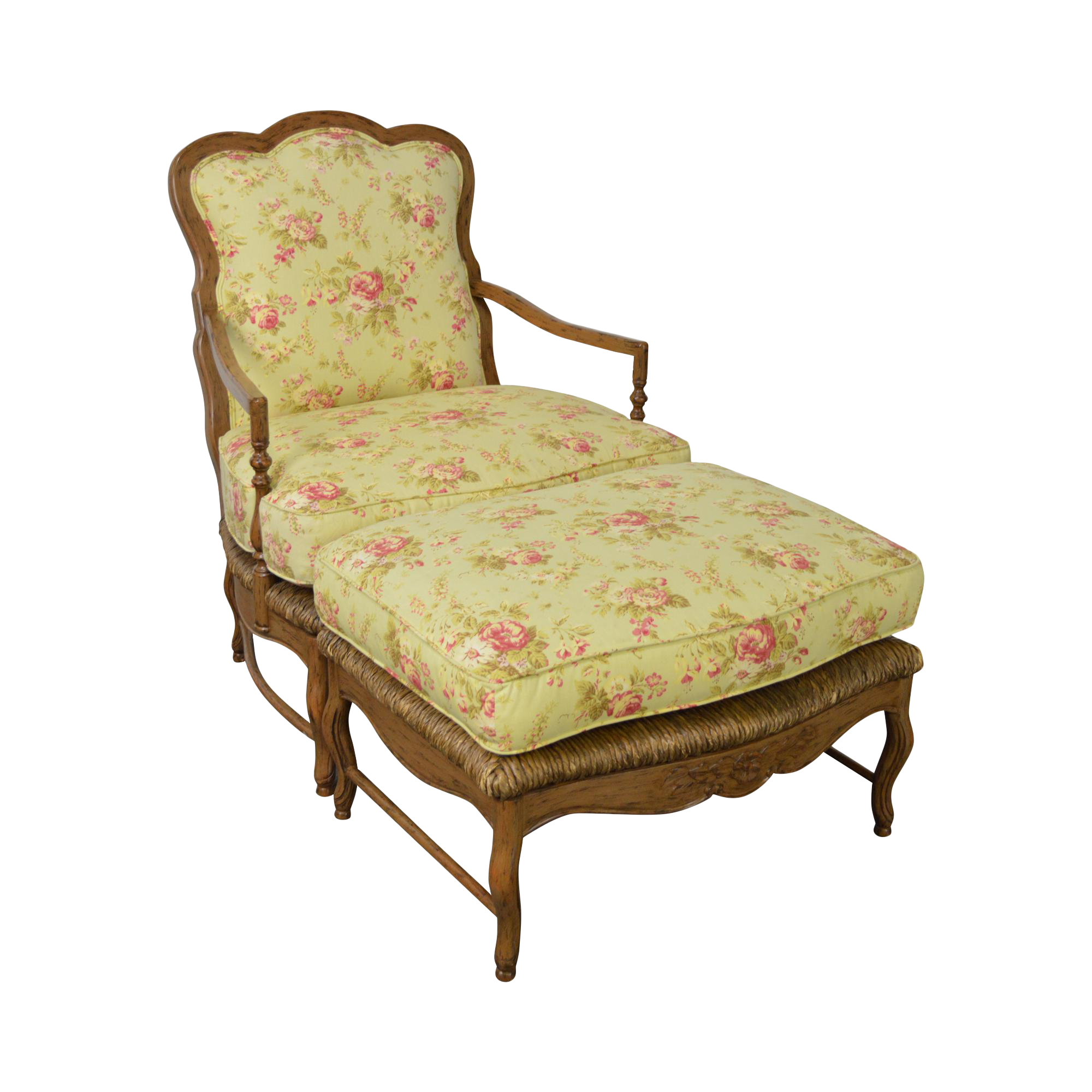 Calico Corners French Country Bergere Lounge Chair W