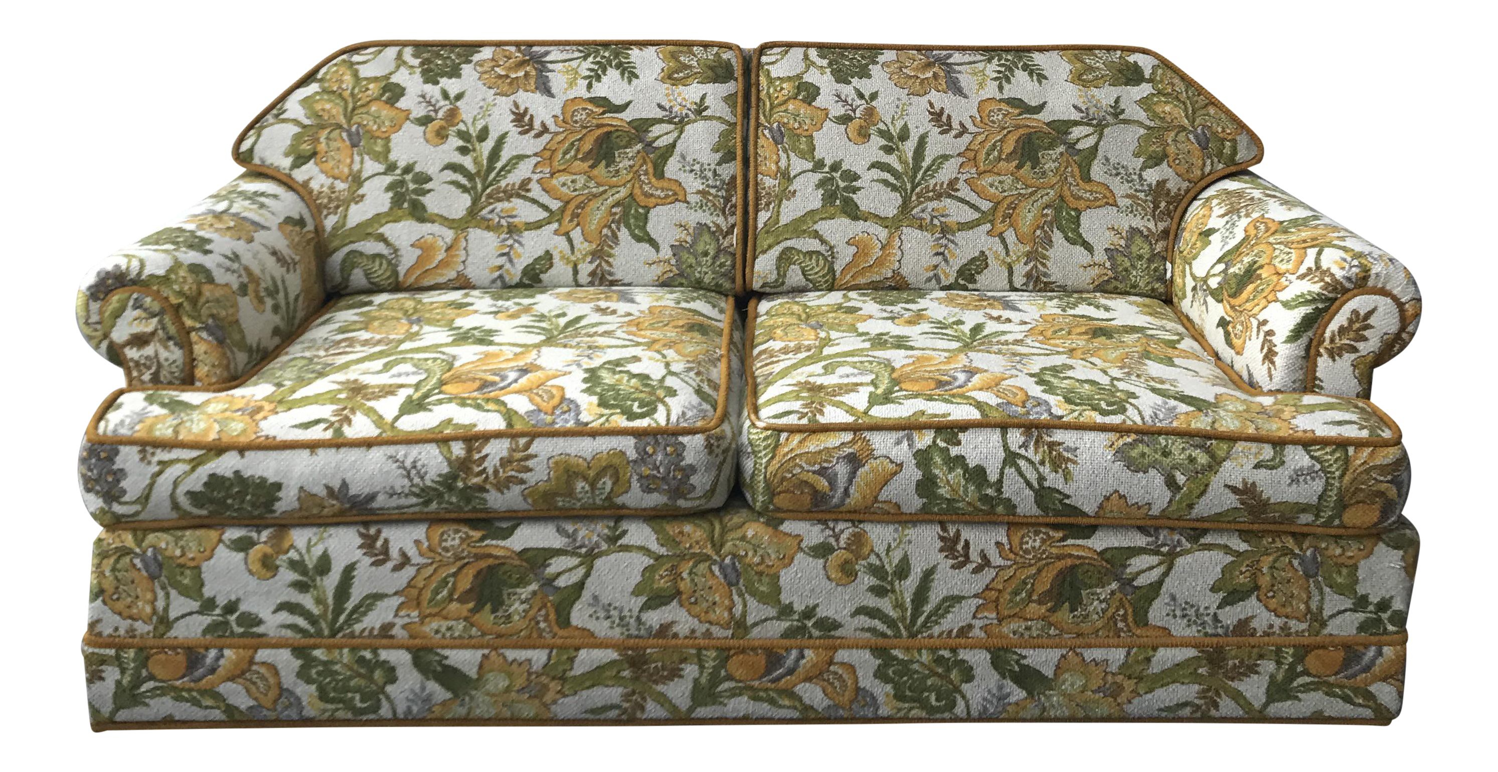 couch photo kues stock sofa vintage depositphotos floral