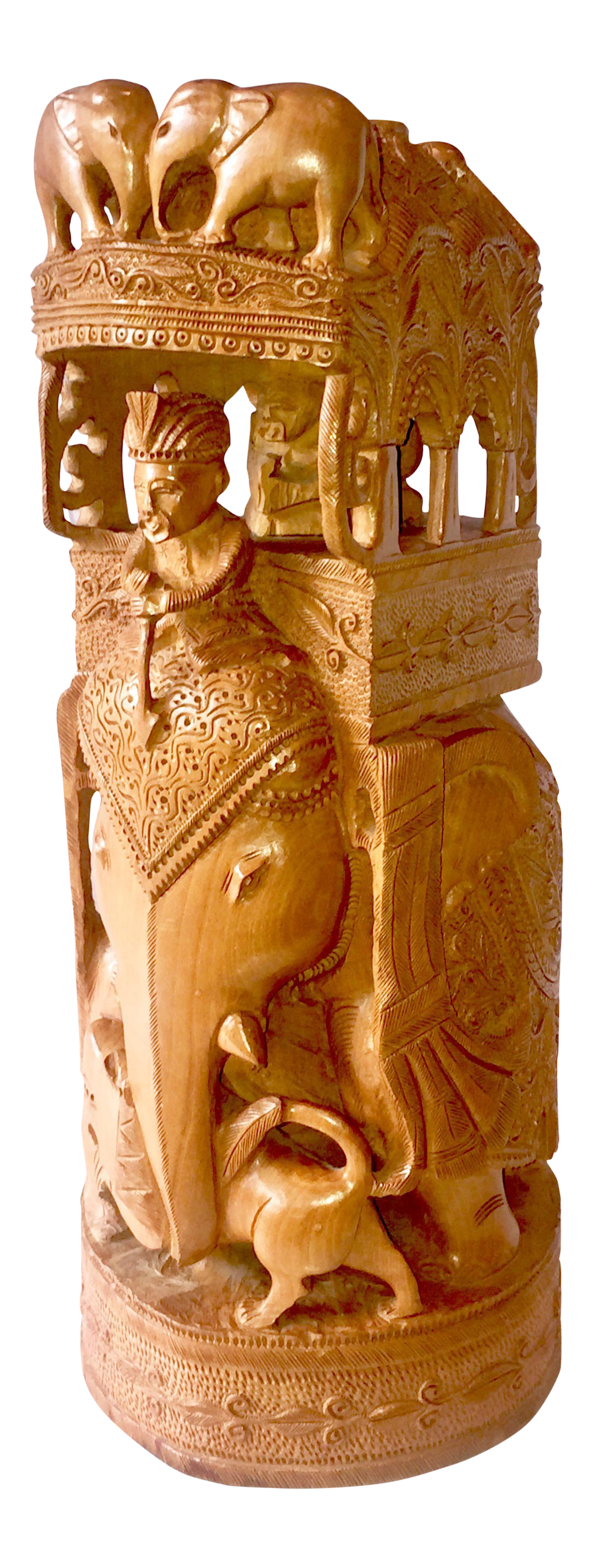 Asian Carved Wood 11