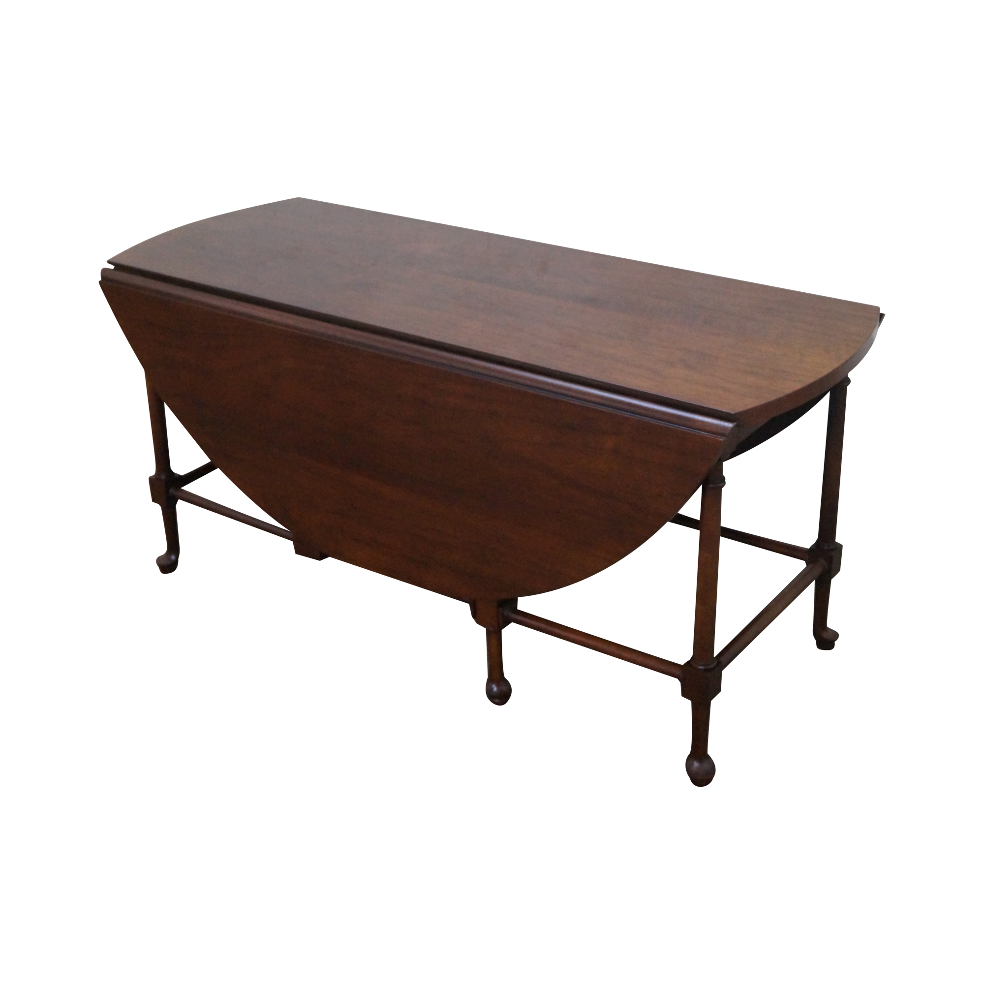 Superbe Vintage Baker Furniture Faux Bamboo Coffee Table With For Glass Baker ...