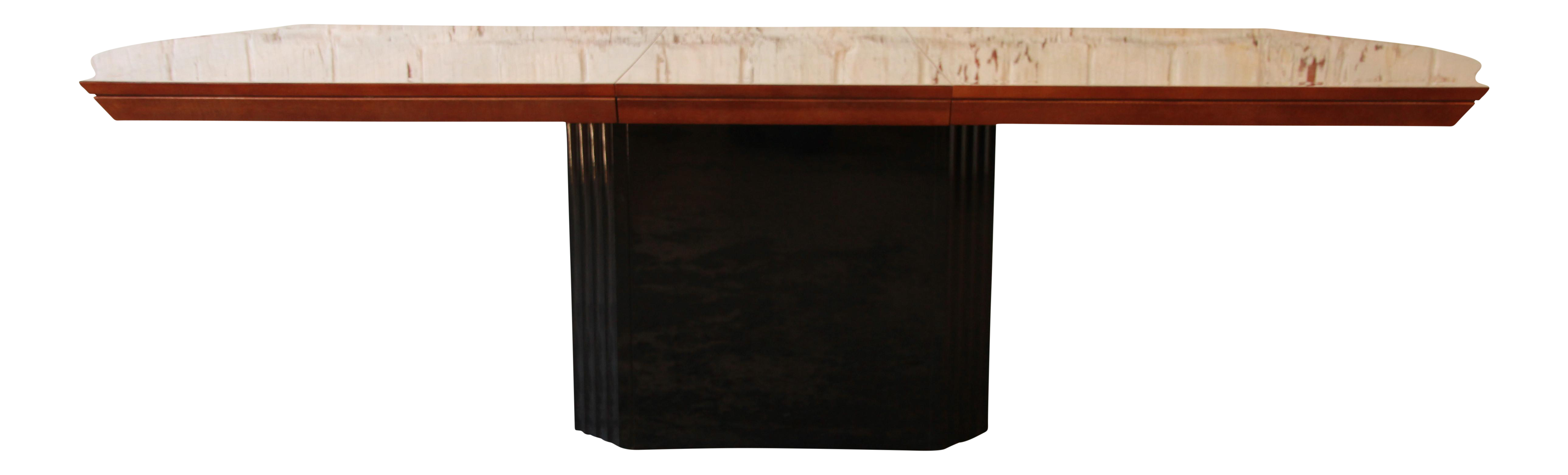 table home black base insight round dining of new room inspirational pedestal wood