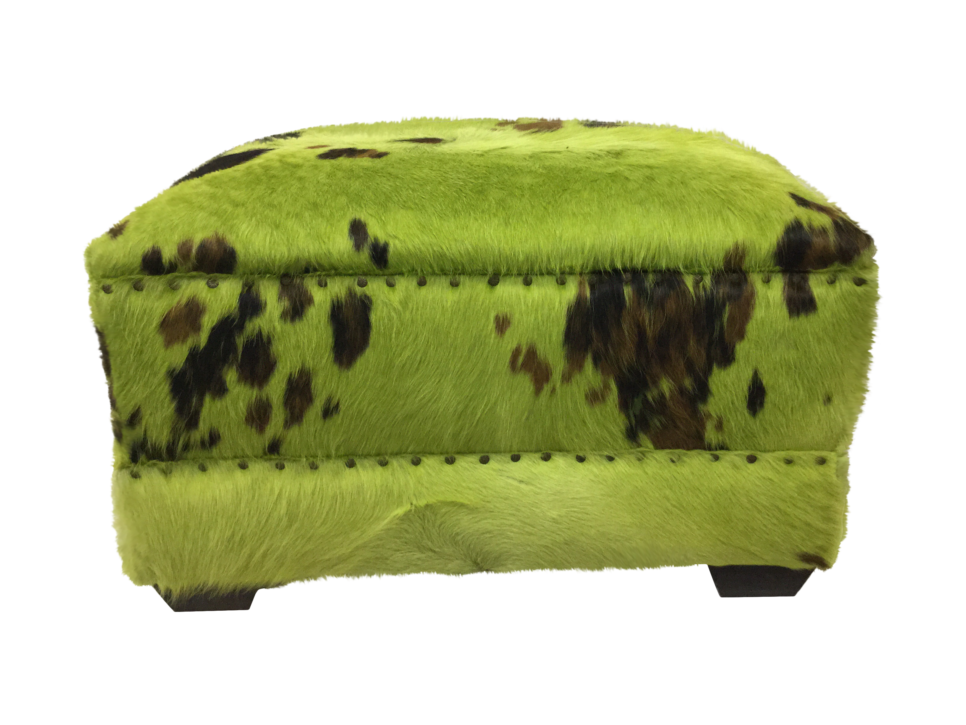 overstock genuine moo x today product home garden free ottoman cowhide shipping