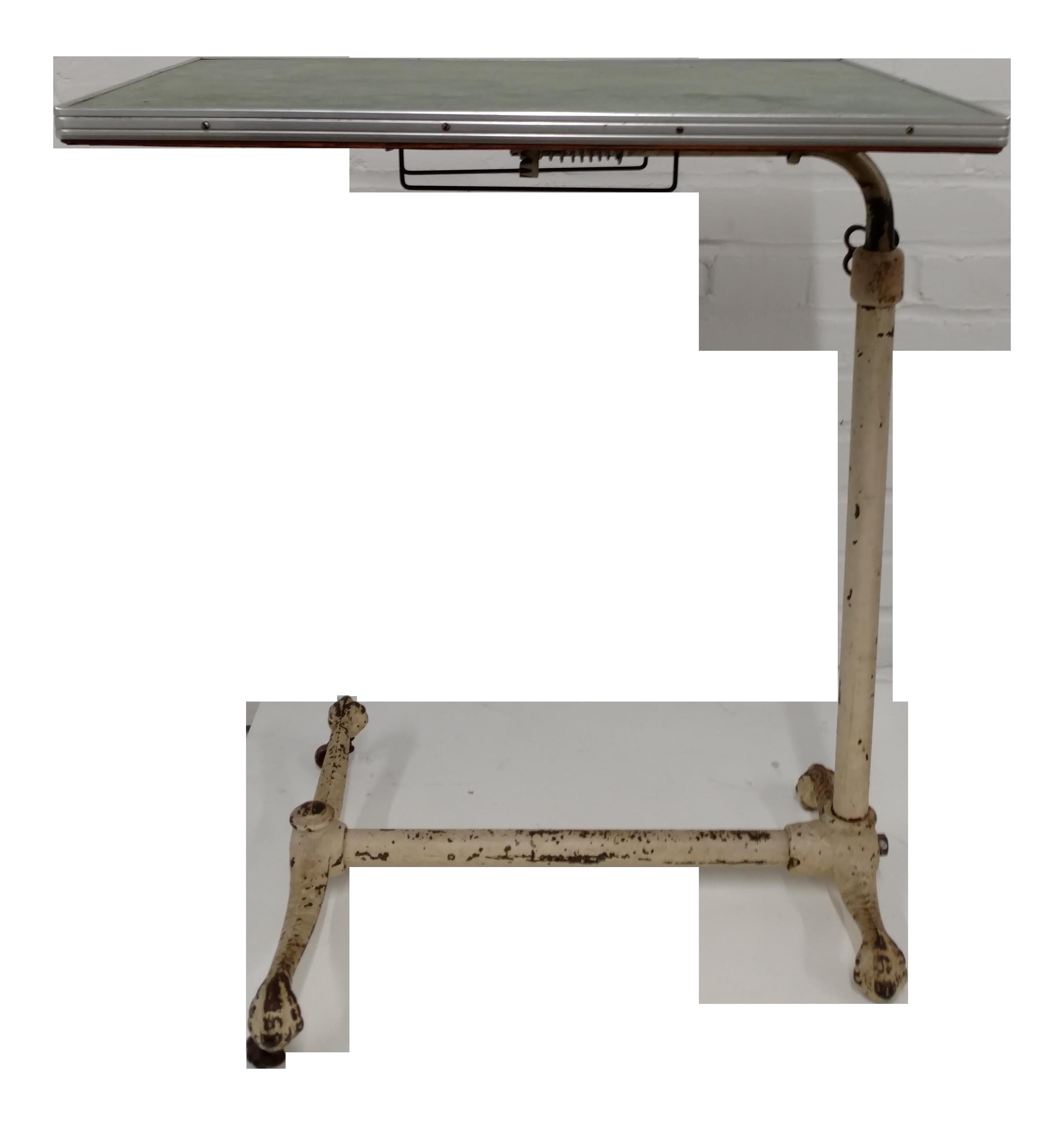 Vintage Adjustable Hospital Tray Table