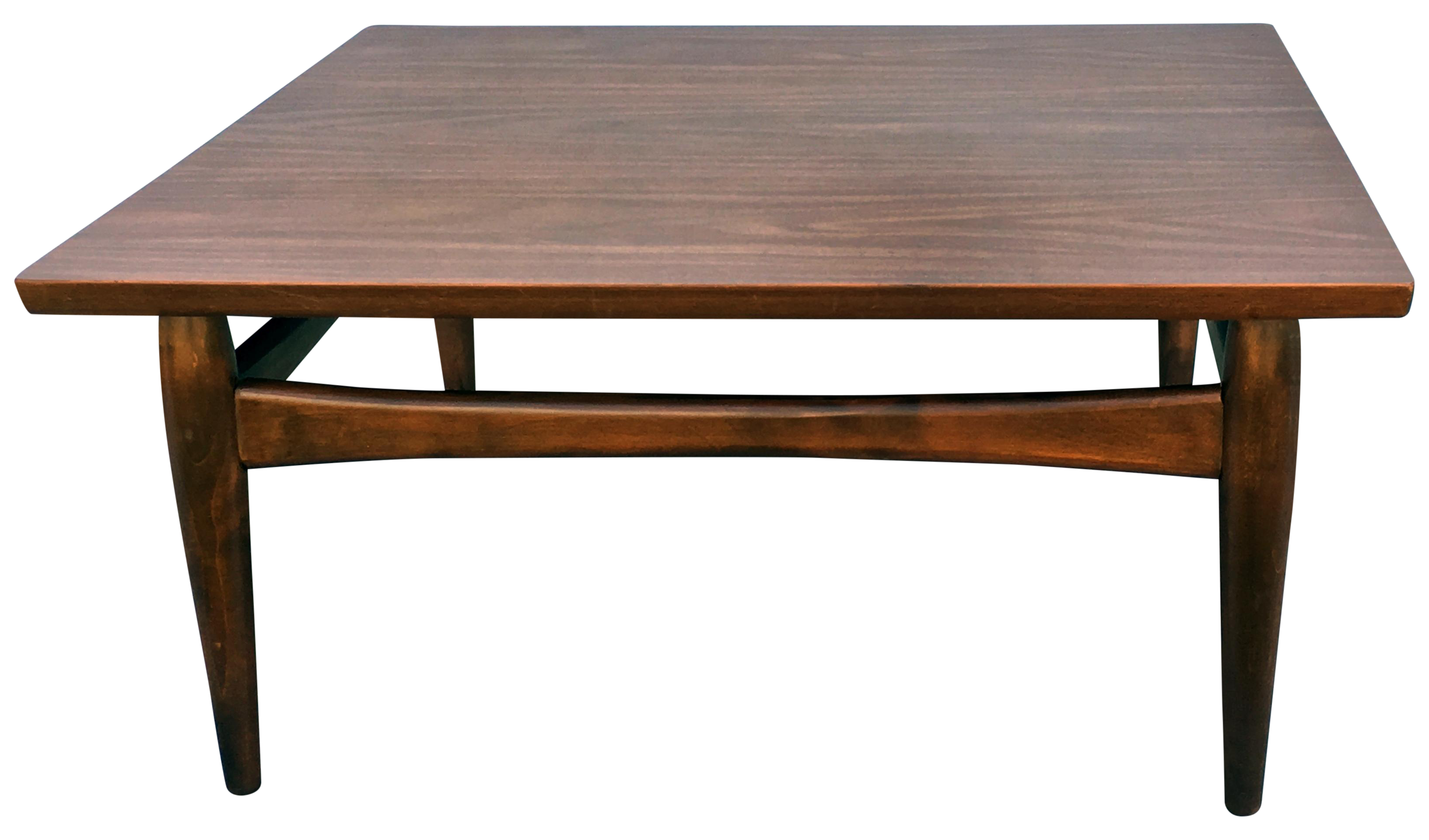 Square Mid Century Modern Coffee Table