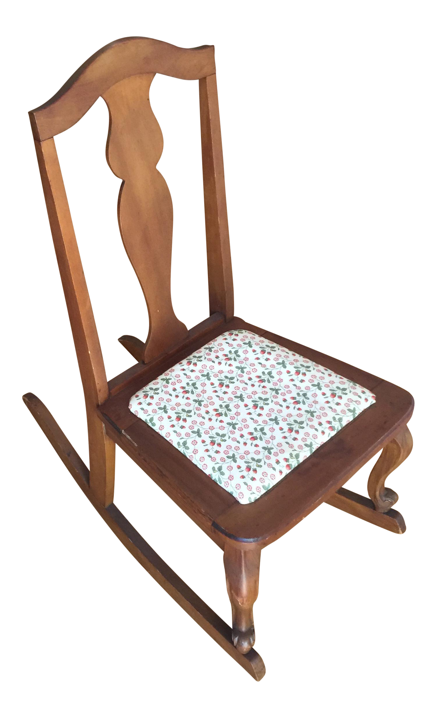 Americana Miniature Sewing Rocking Chair Chairish