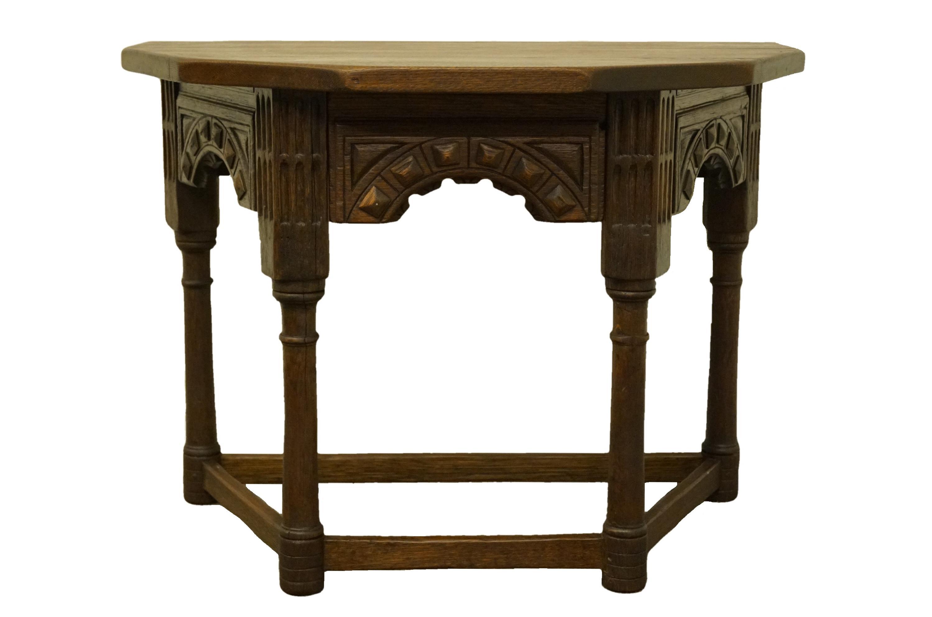 - 1920's Gothic Oak Jacobean 33