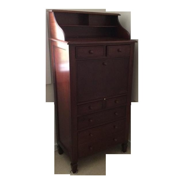 Crate And Barrel Secretary Desk Chairish