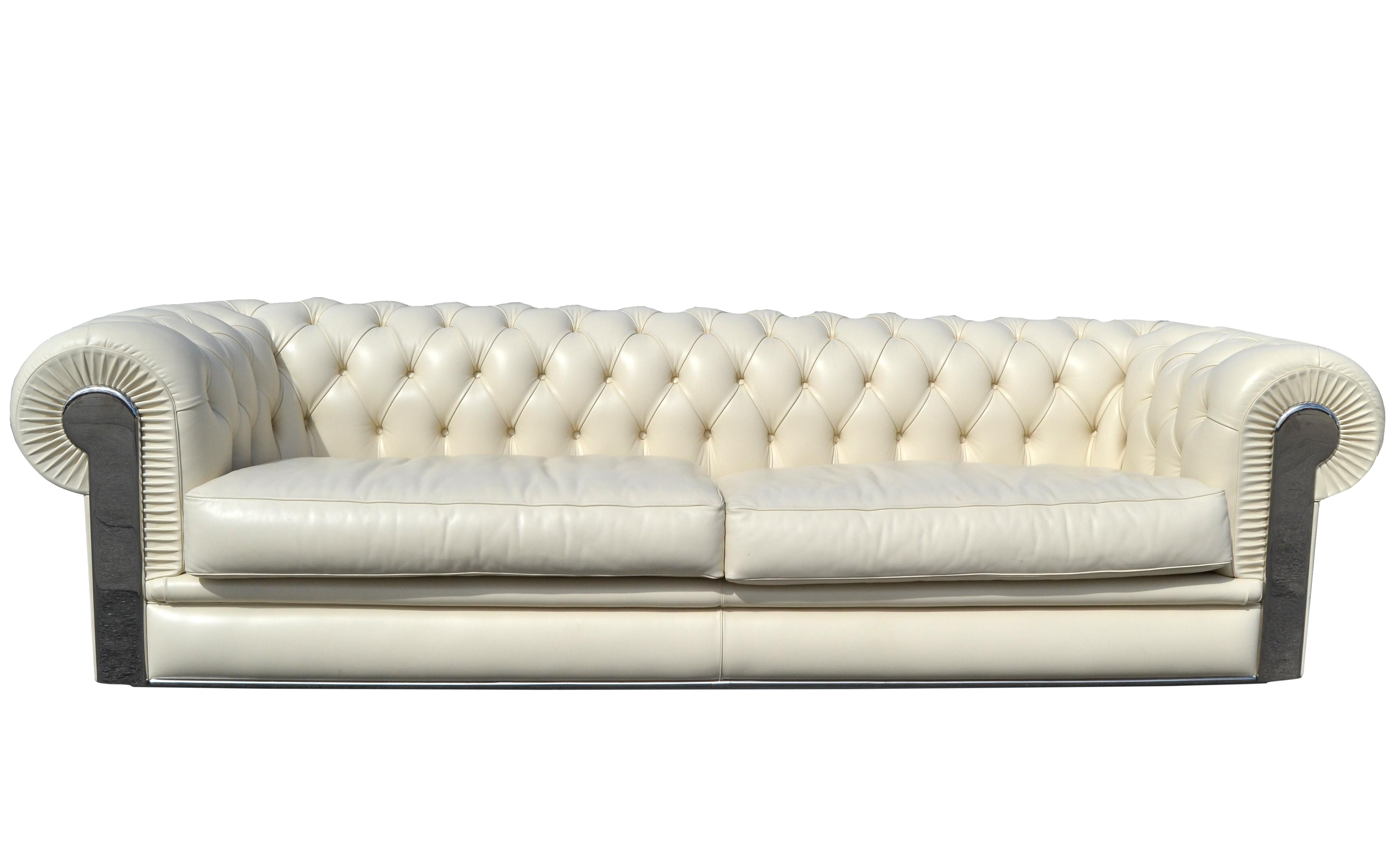 Prime Fendi Casa Albino Tufted Leather Sofa In Chesterfield Style Alphanode Cool Chair Designs And Ideas Alphanodeonline