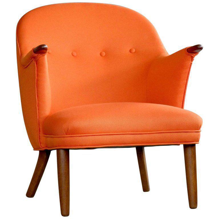 1950s Kurt Olsen Style Danish Mama Bear Lounge Chair - Vintage & Used Corner Chairs Chairish