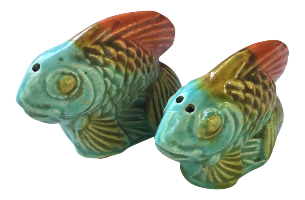 Vintage Fish Salt Pepper Shakers A Pair Chairish
