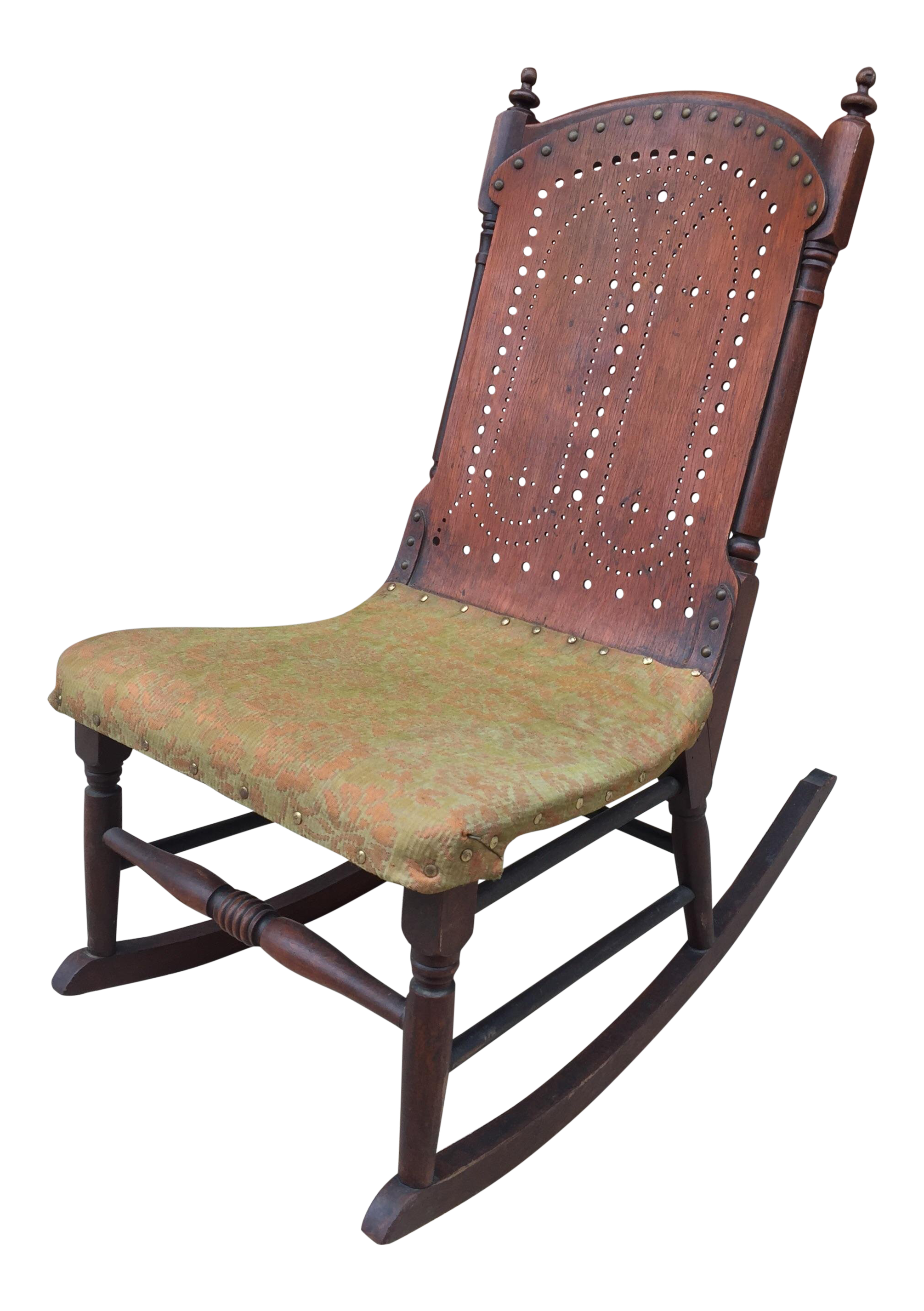 sc 1 st  Chairish & Late 19th Century Antique Victorian Childu0027s Rocking Chair   Chairish