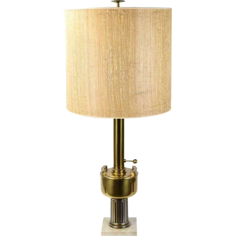 Vintage Mid Century Modern Modernist Stiffel Brass Urn Table Lamp